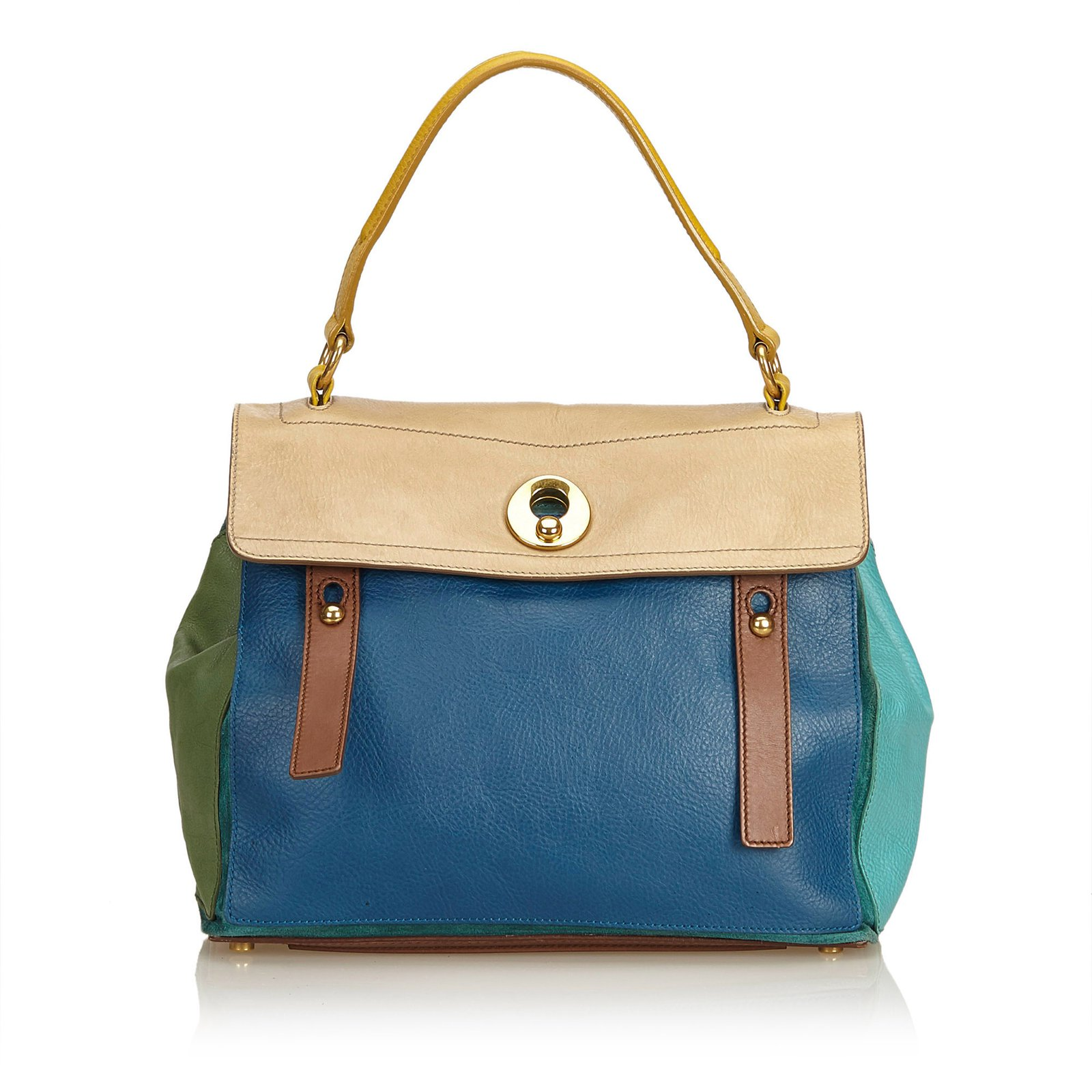 Autre marque multicolor leather muse two handbag handbags leather other  blue multiple colors ref jpg 1600x1600 4e97bbf973f7a