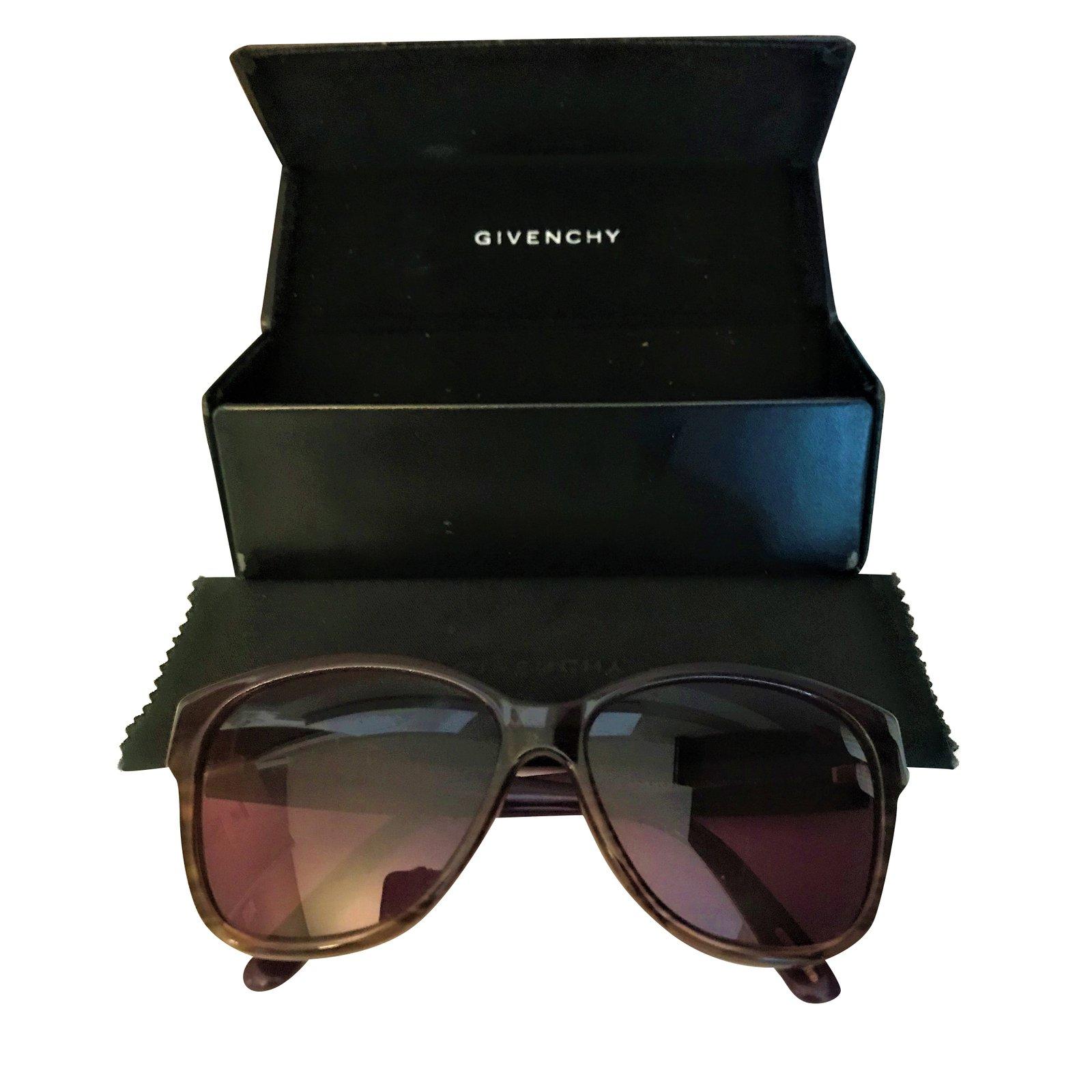 Lunettes Givenchy Lunette de soleil Plastique Violet ref.92539 ... 2cf0756200bf