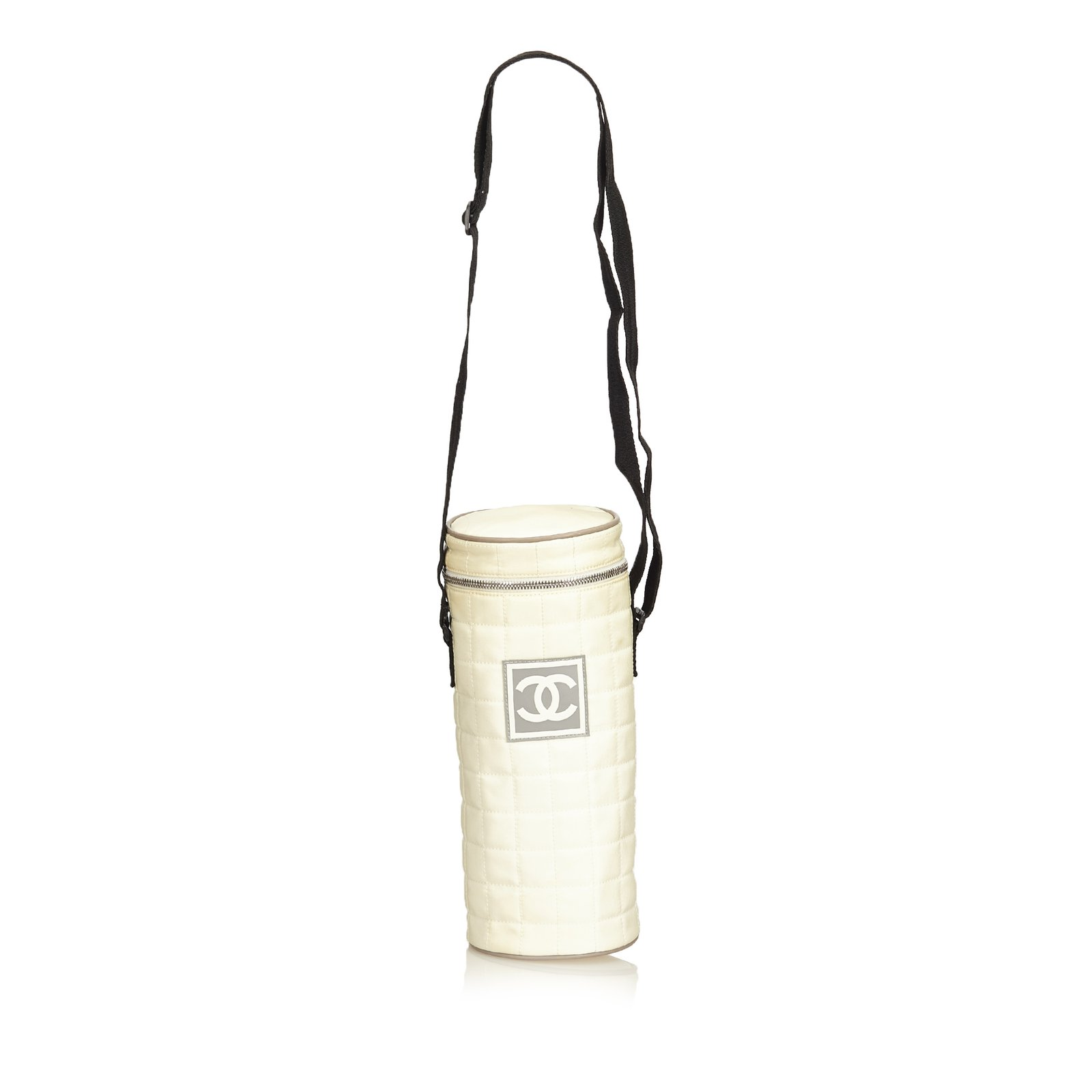 Chanel Sport Line Quilted Nylon Shoulder Bag Handbags Nylon fa6197a24709b