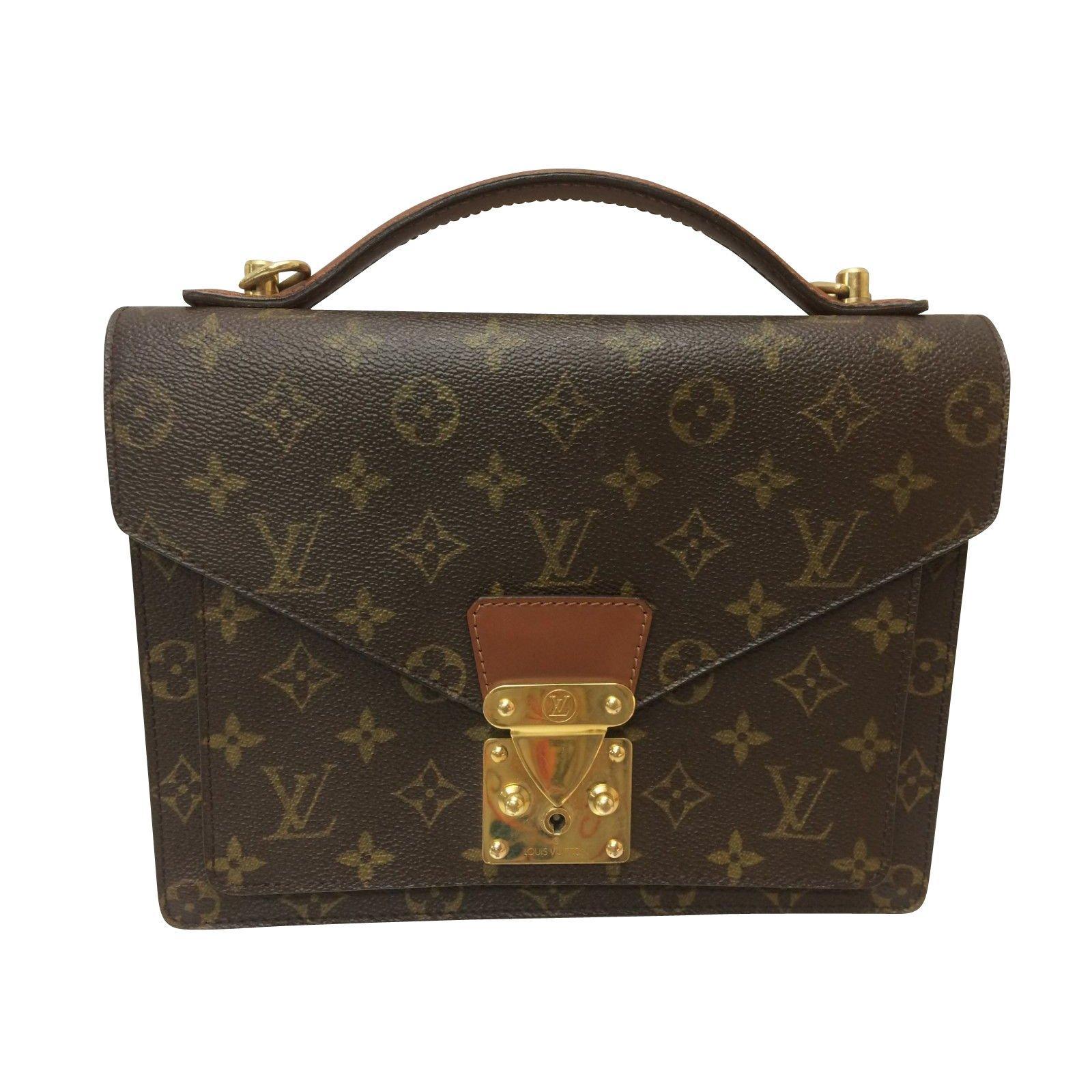 7082116a0f31 Louis vuitton louis vuitton monogram monceau way handbags plastic other ref  jpg 1600x1600 Louis vuitton tote