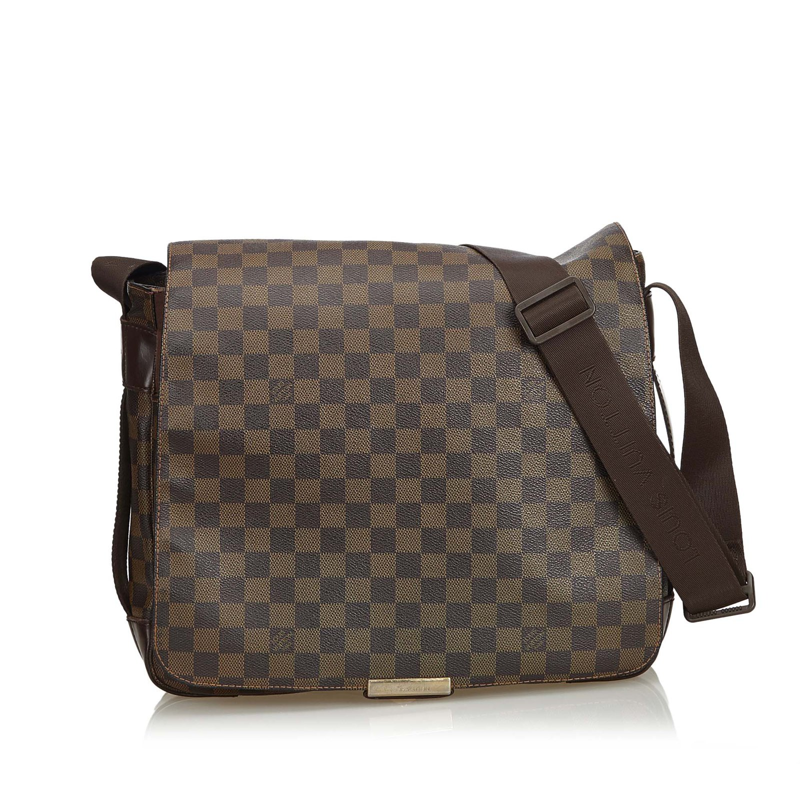 f75ae7ffbcf8 Louis Vuitton Damier Ebene Bastille Messenger Bag Handbags Leather ...