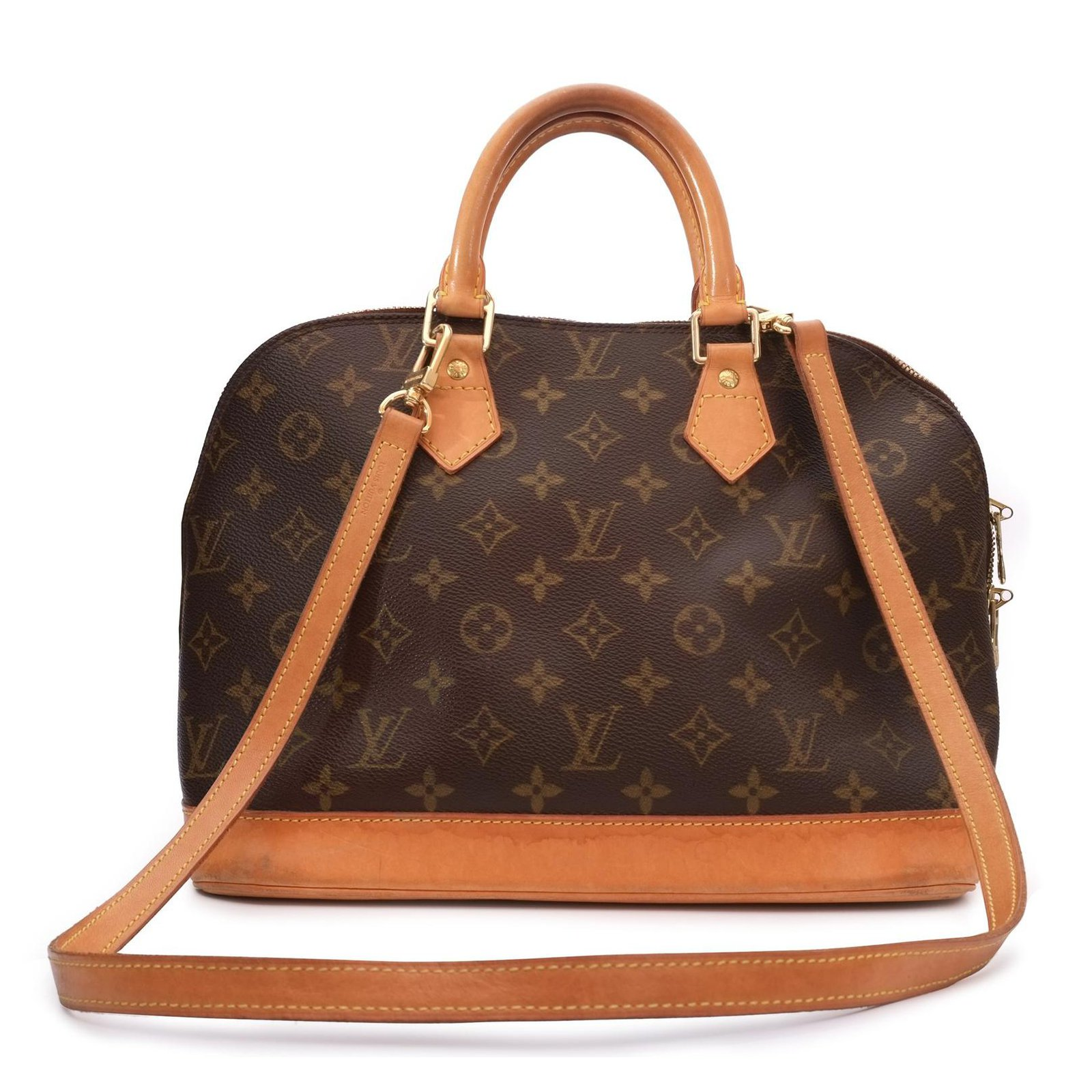 0c6e0ffb2908 Louis Vuitton Louis Vuitton Alma Monogrammed shoulder bag in good  condition! Handbags Leather