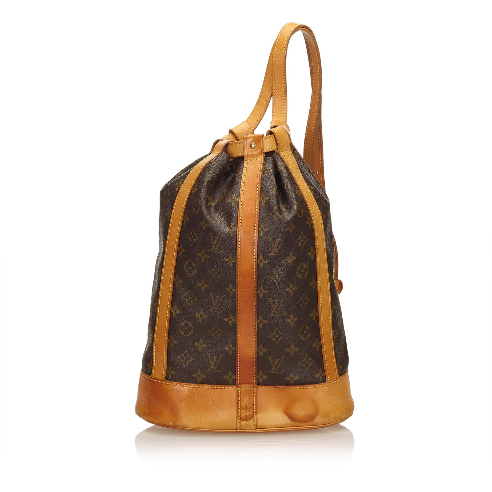 63b193993fea Louis Vuitton Monogram Randonnee GM Backpacks Leather