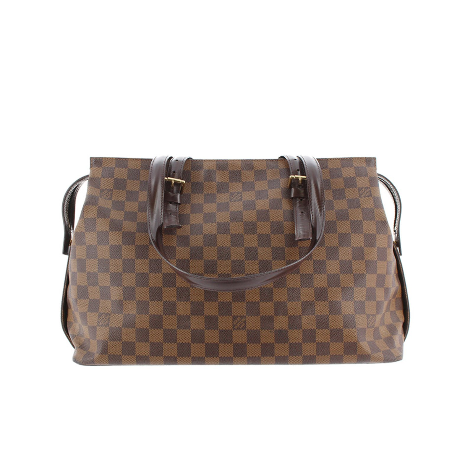 b30bbe475224 Louis Vuitton Damier Ebene Chelsea Totes Leather