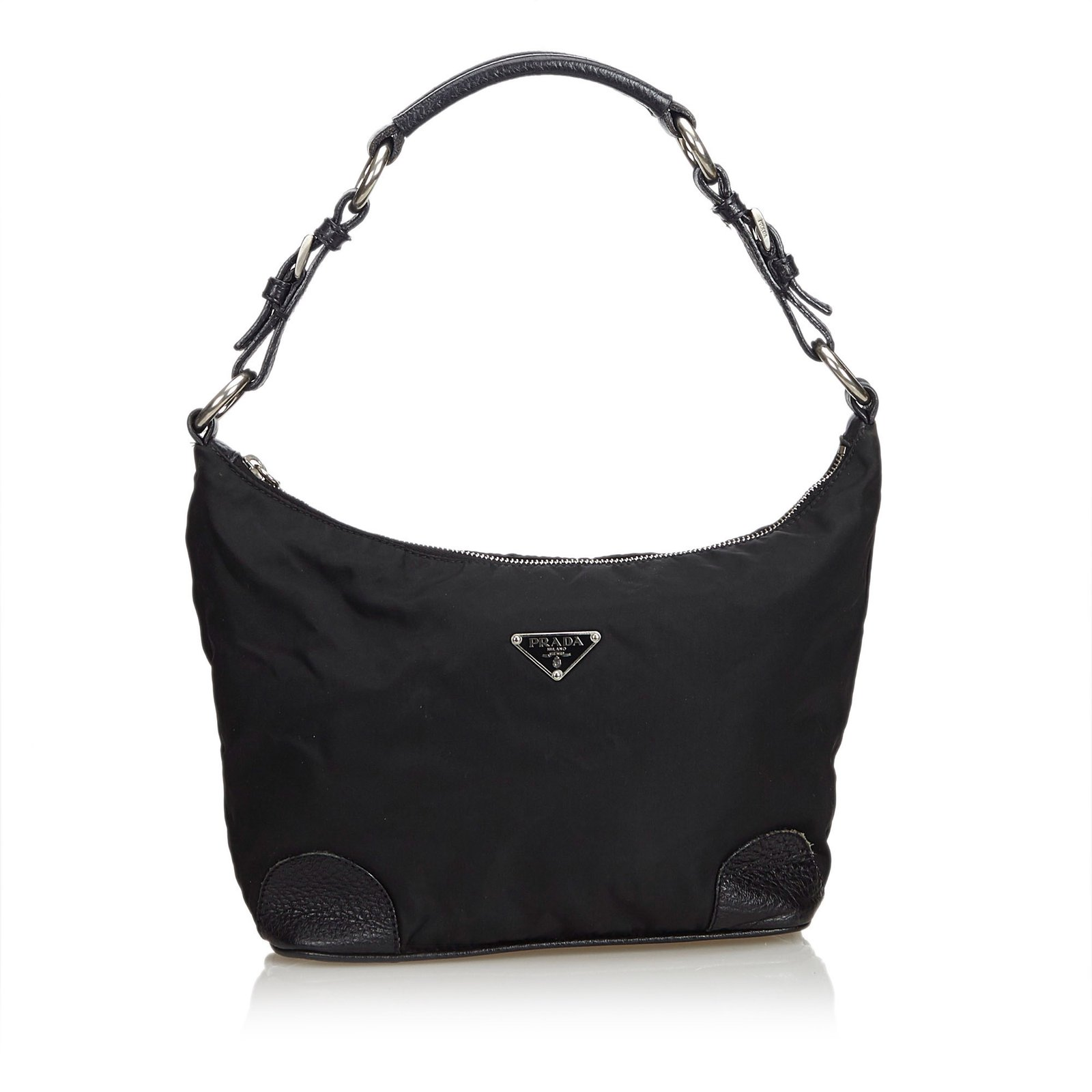 9e9087ca424 ... where to buy prada nylon shoulder bag handbags leatherothernyloncloth  black ref.100340 86704 9de1e