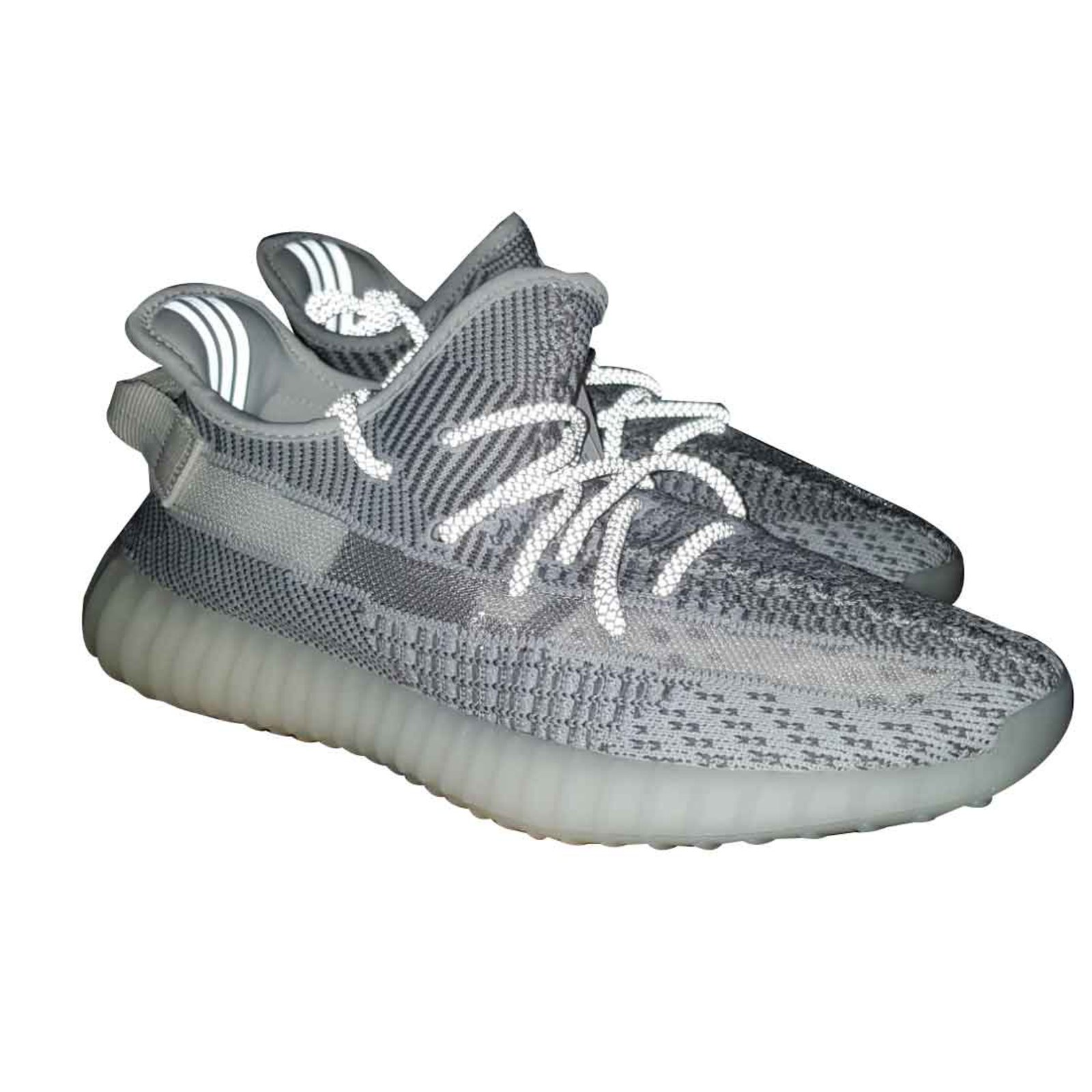 c94119a20f7 Adidas ADIDAS YEEZY BOOST 350 V2 static Non Reflective Sneakers Cloth  White