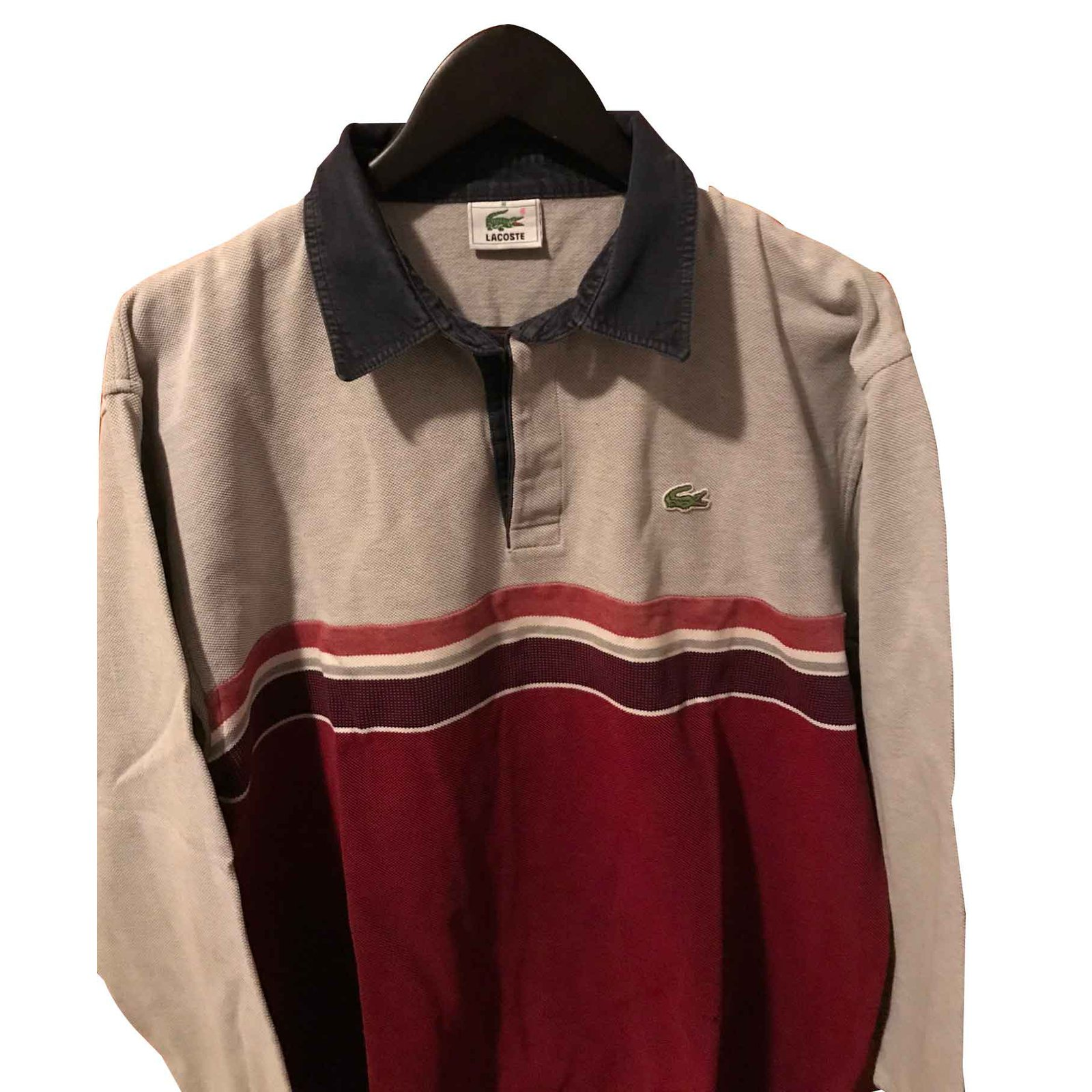 a5dad585 Lacoste men's long sleeve polo shirt 5XXL