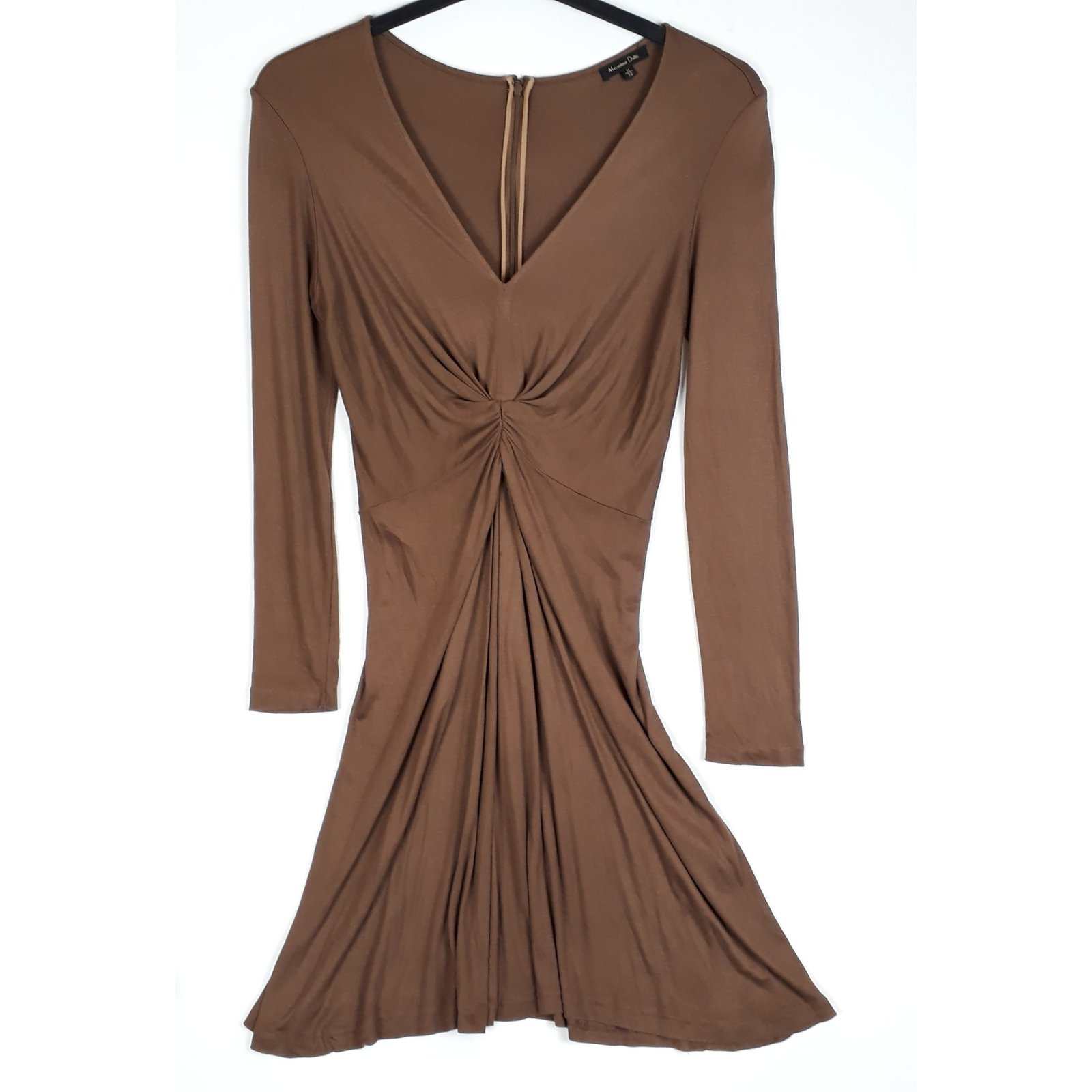 Draped Dresses with Sleeves