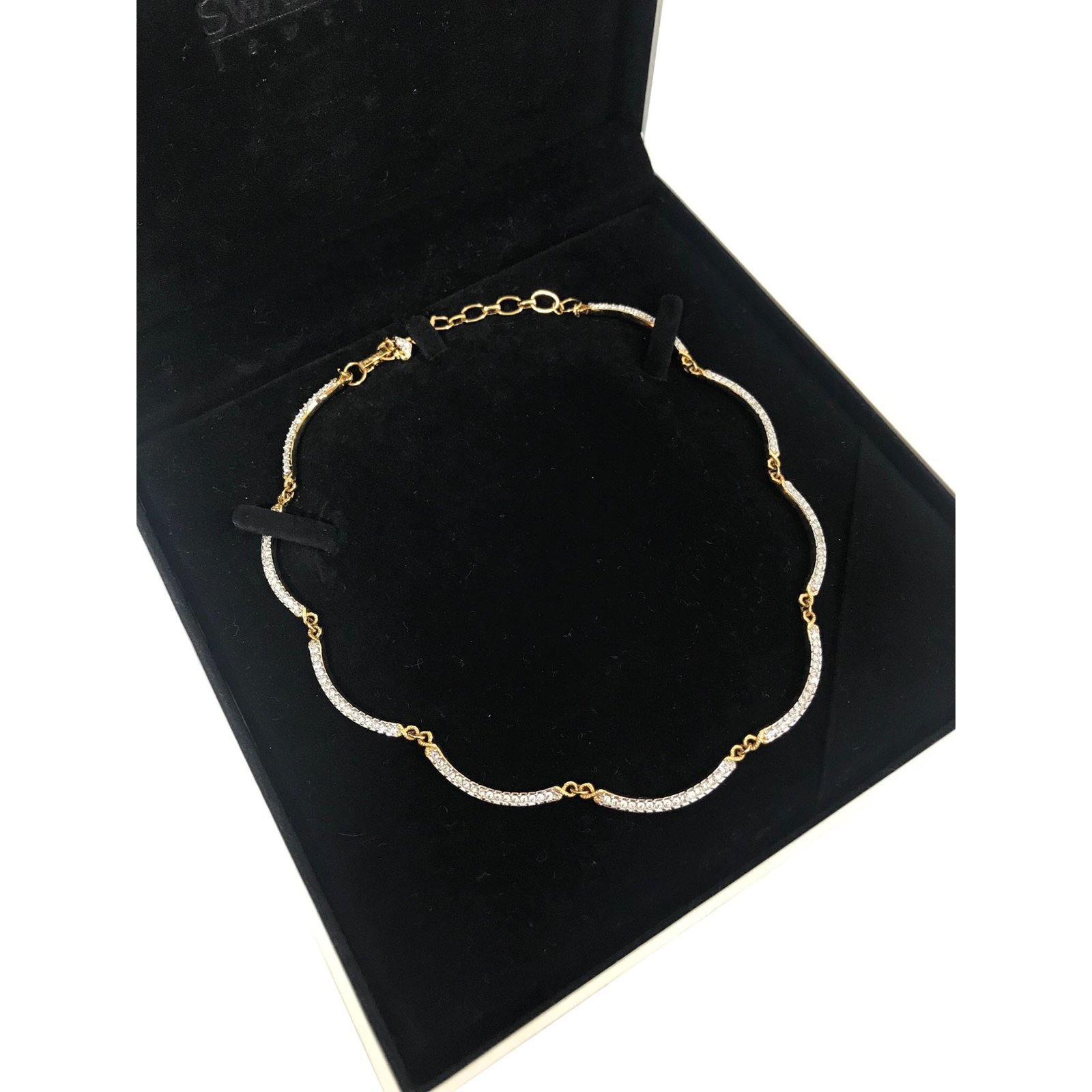 Swarovski Swarovski rhinestone necklace Necklaces Metal Silvery ... abad52ae9