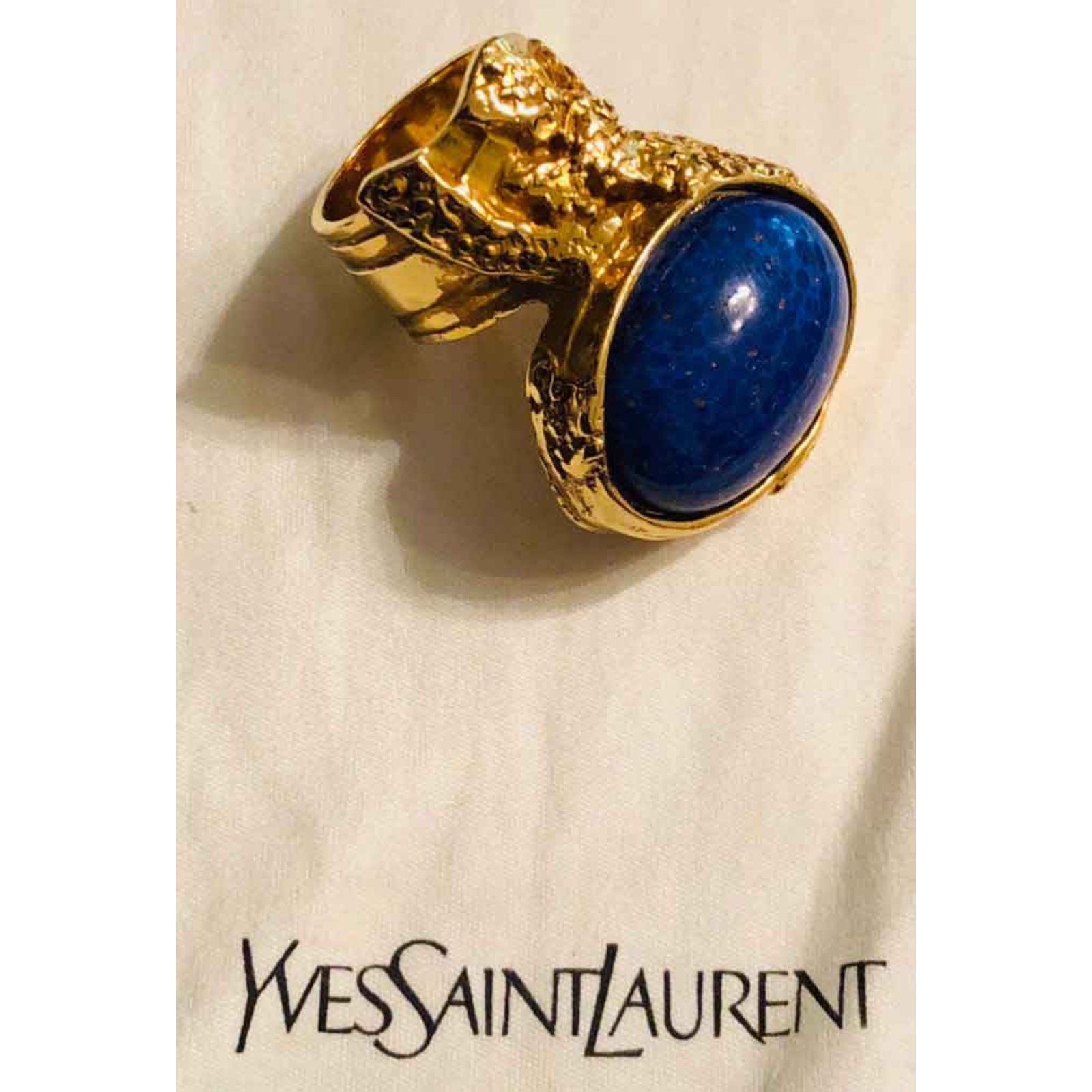 05af13db69e2 Yves Saint Laurent Sublime Yves Saint Laurent Arty ring Rings Metal ...