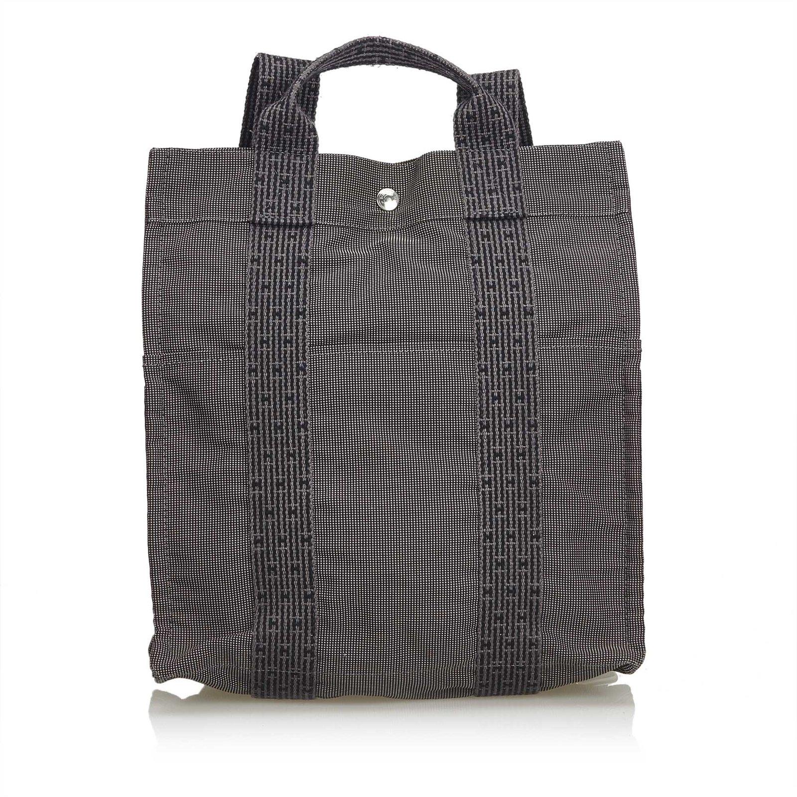 sacs dos herm s sac dos en toile herline pm toile. Black Bedroom Furniture Sets. Home Design Ideas