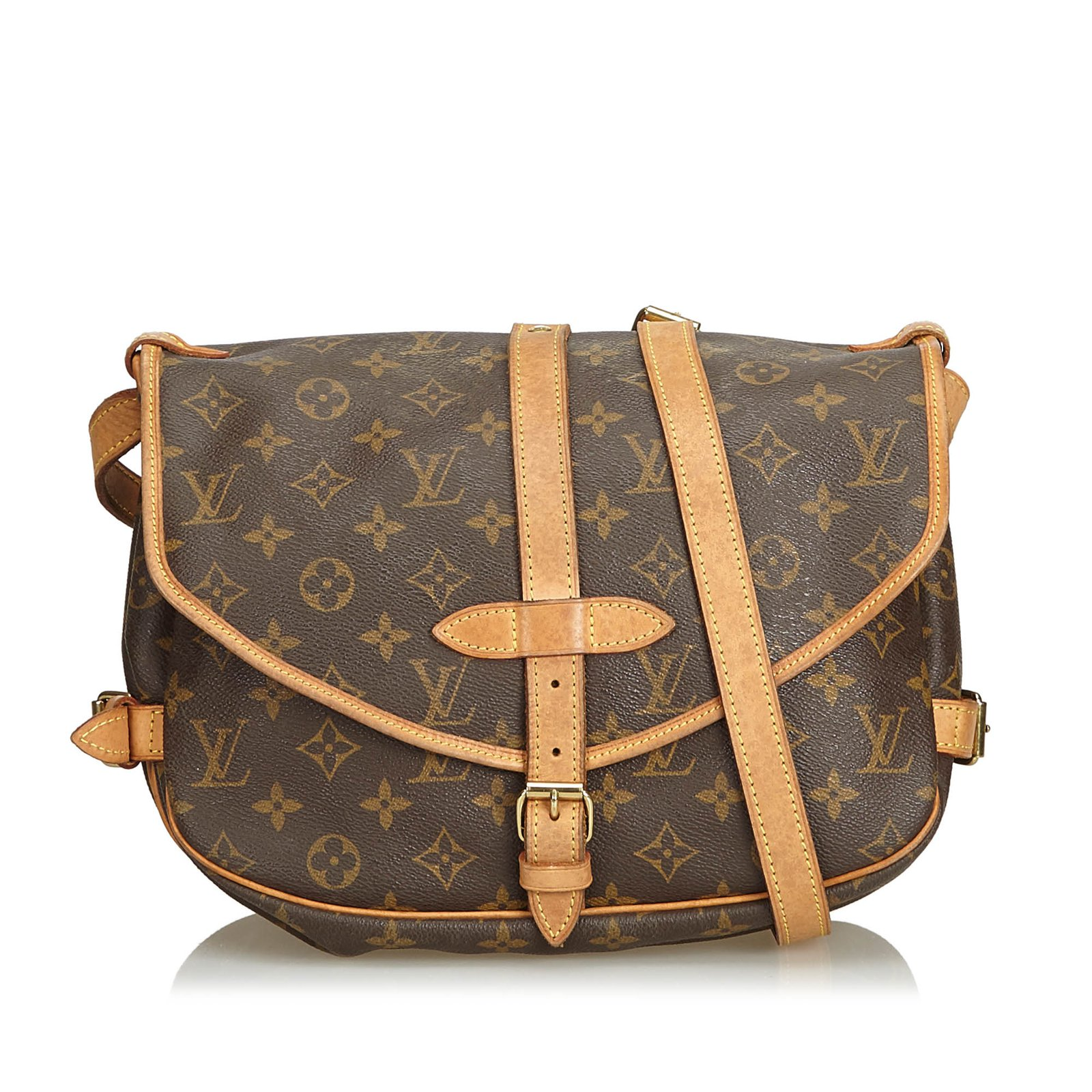 Louis Vuitton Monogram Saumur 30 Handbags Leather 491b321e1
