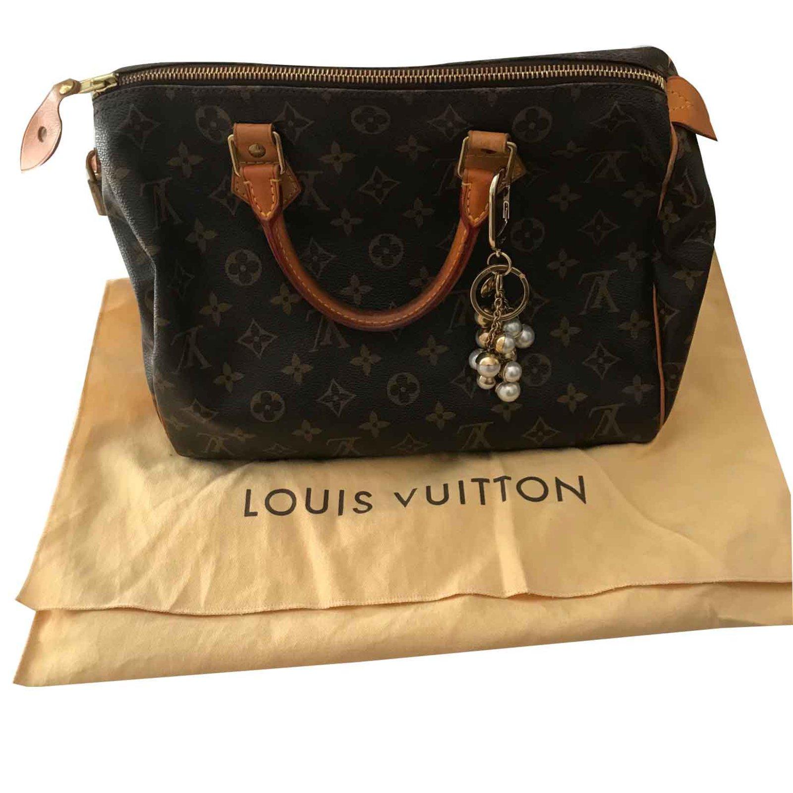 dfc1050215e0 Louis Vuitton Speedy 30 Handbags Leather Brown ref.103657 - Joli Closet