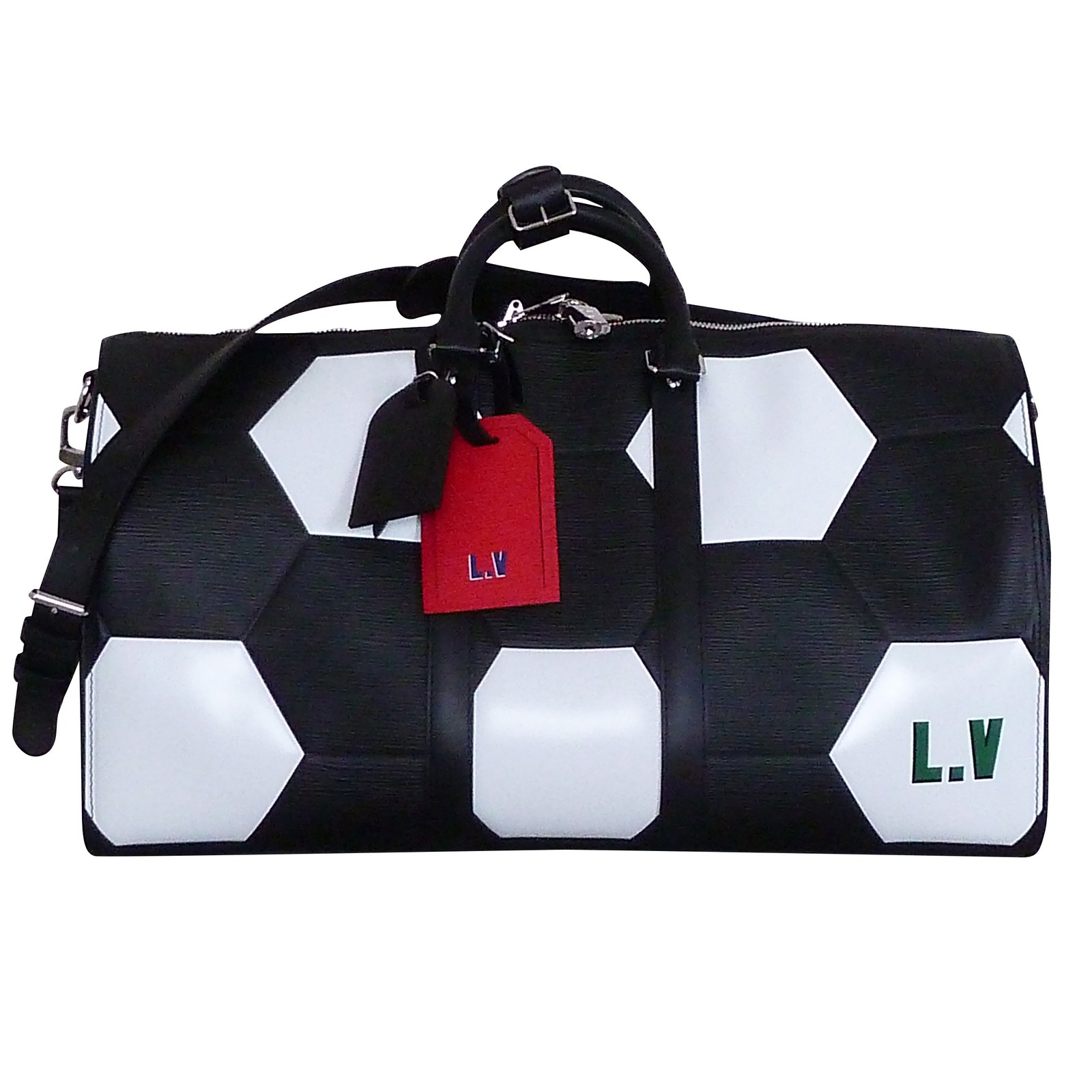 7c84b16cd7d Louis Vuitton Louis Vuitton Keepall 50 Epi World Cup 18 Limited edition  Bags Briefcases Leather Black