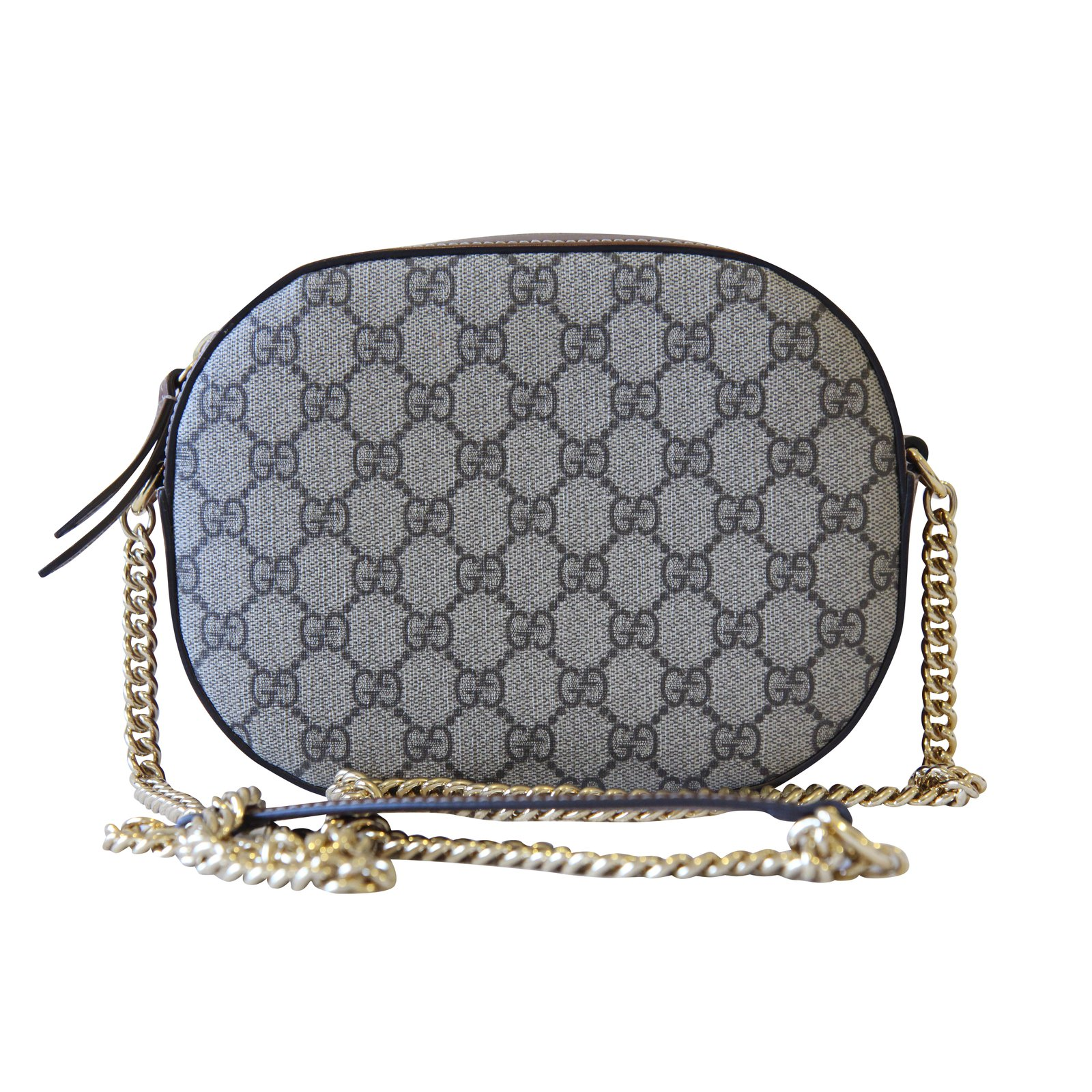8b940936a1 Gucci GG Supreme mini chain bag