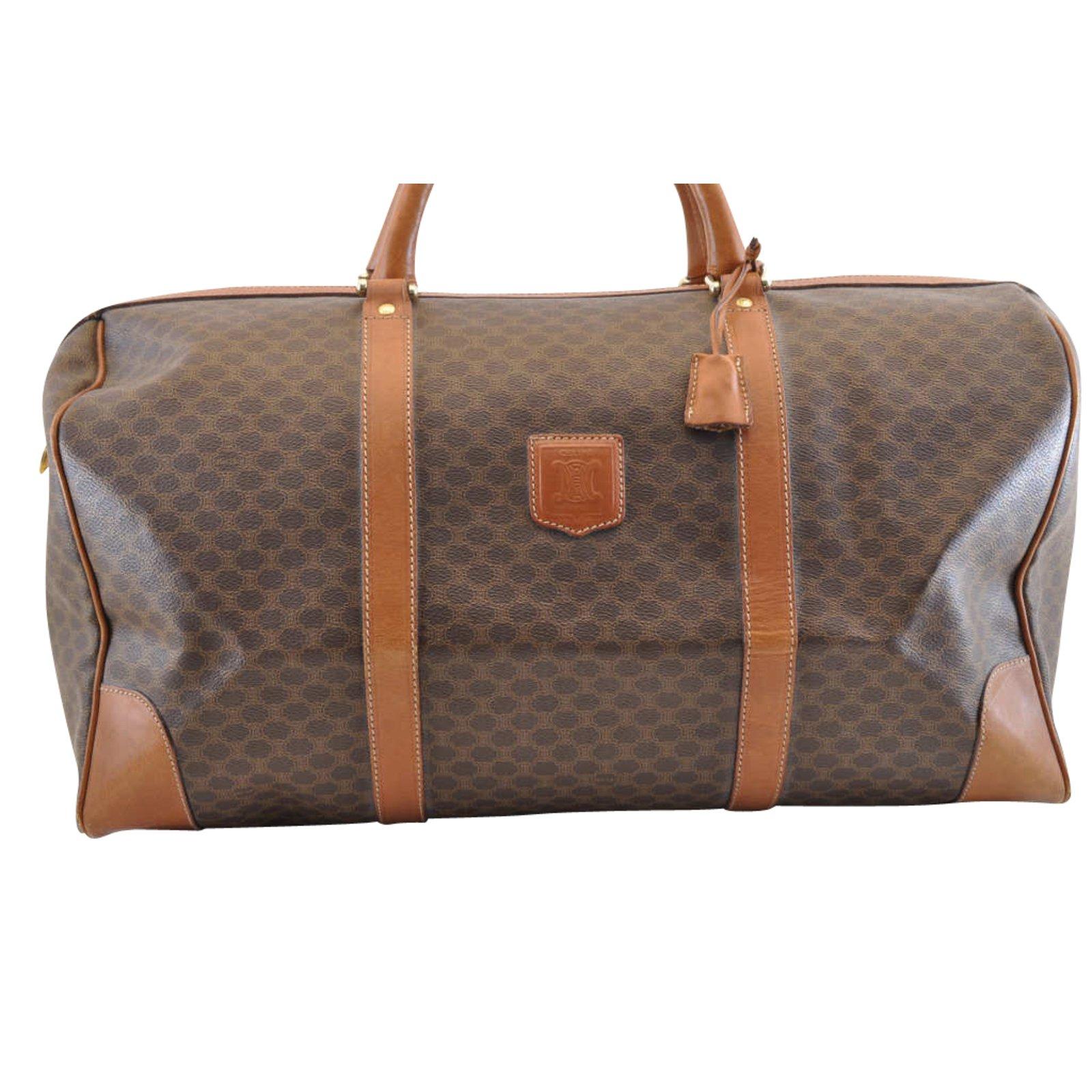 65f77d492416 Céline boston bag handbags other brown ref joli closet jpg 1600x1600  Leather handbags celine boston bag