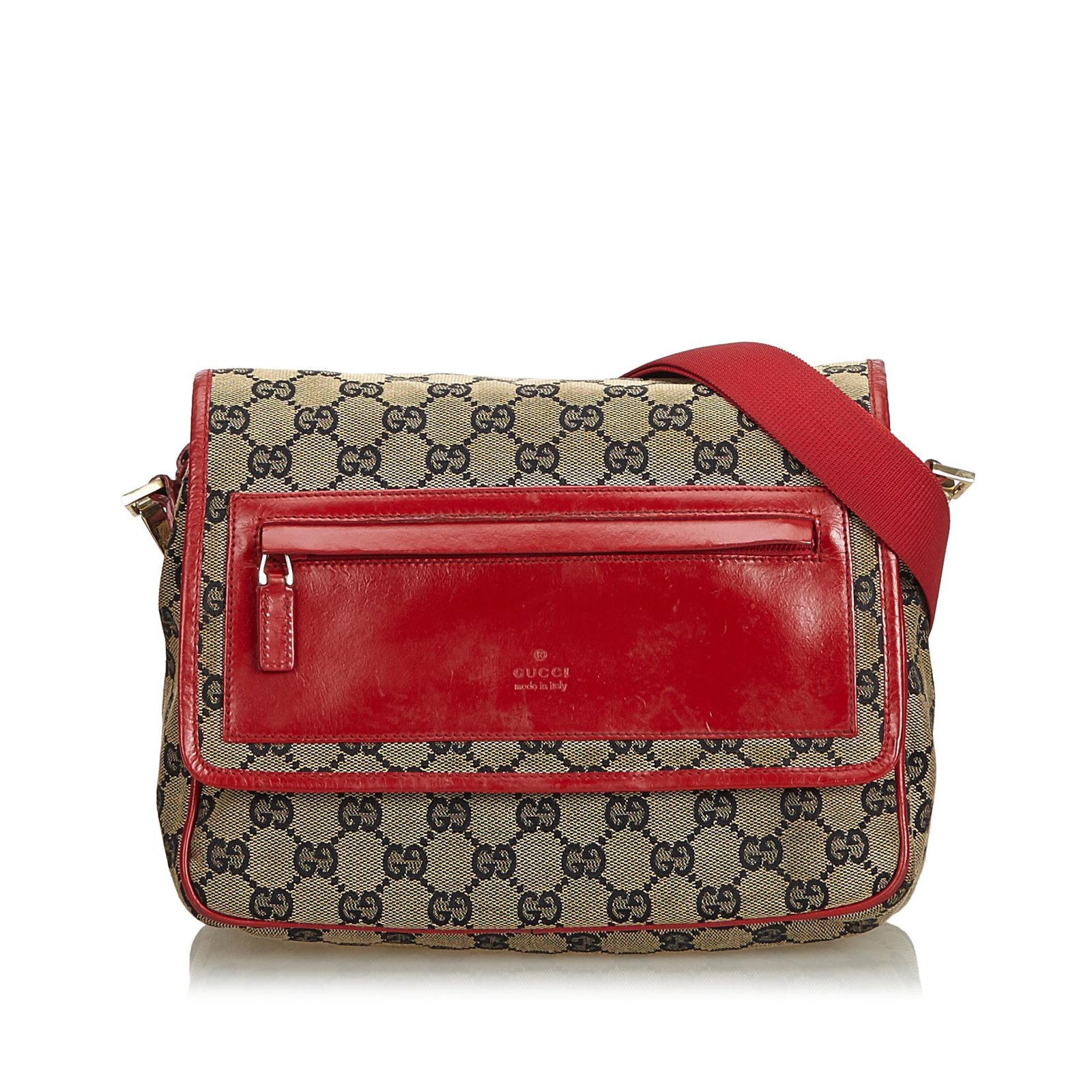 f913766e4 Gucci GG Canvas Crossbody Bag Handbags Leather,Other,Cloth,Cloth Brown,Red