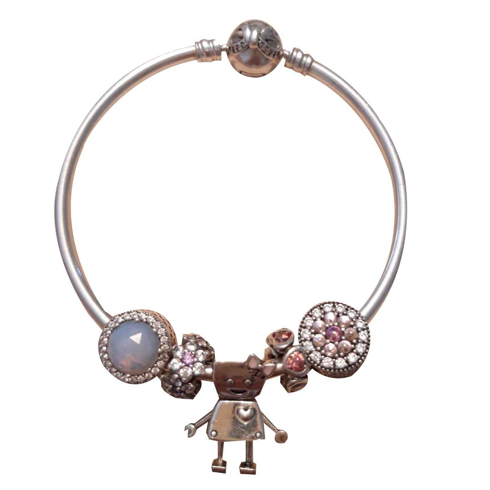 bracelets argent pandora