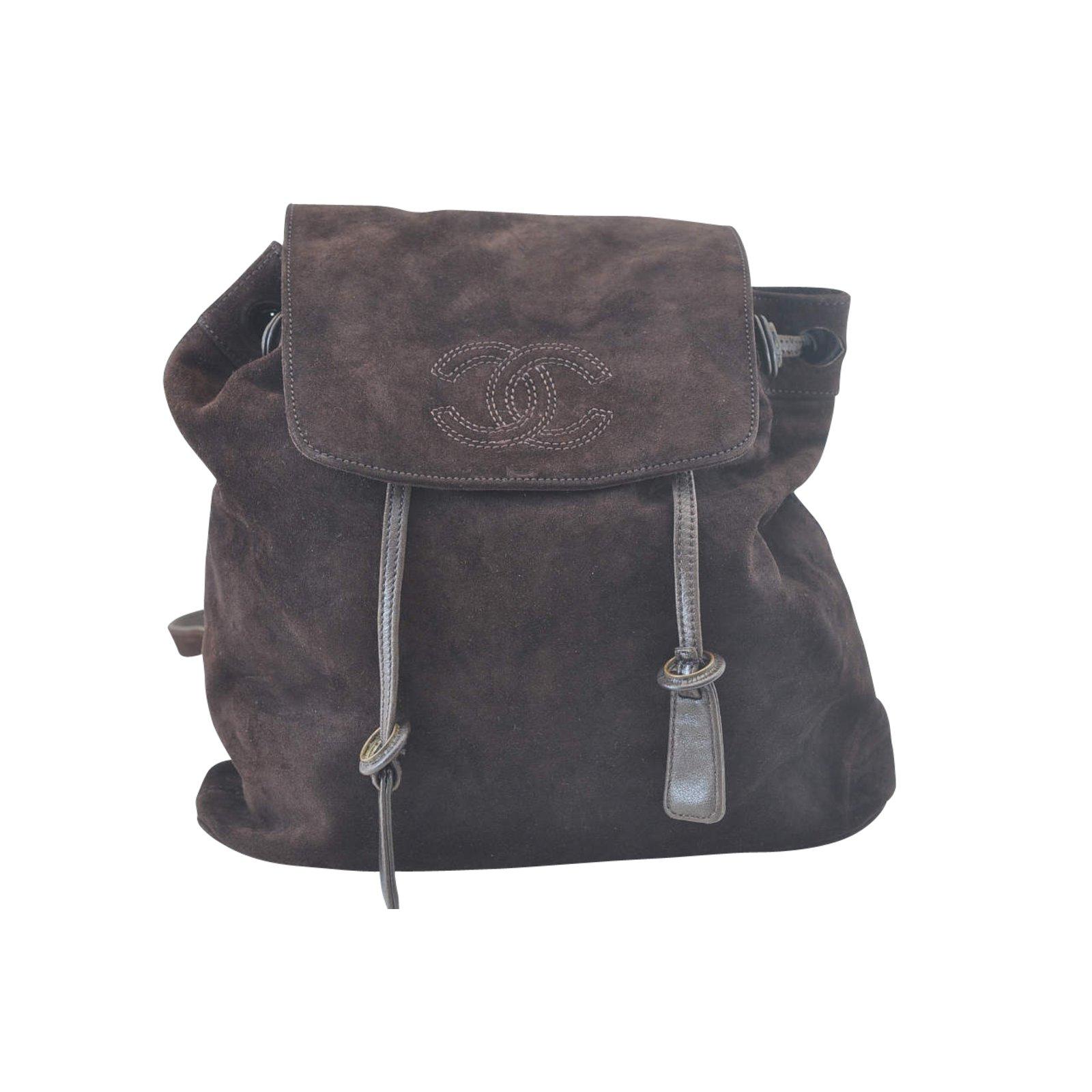 dead78301ac2e4 Chanel Backpack Handbags Other Brown ref.105022 - Joli Closet
