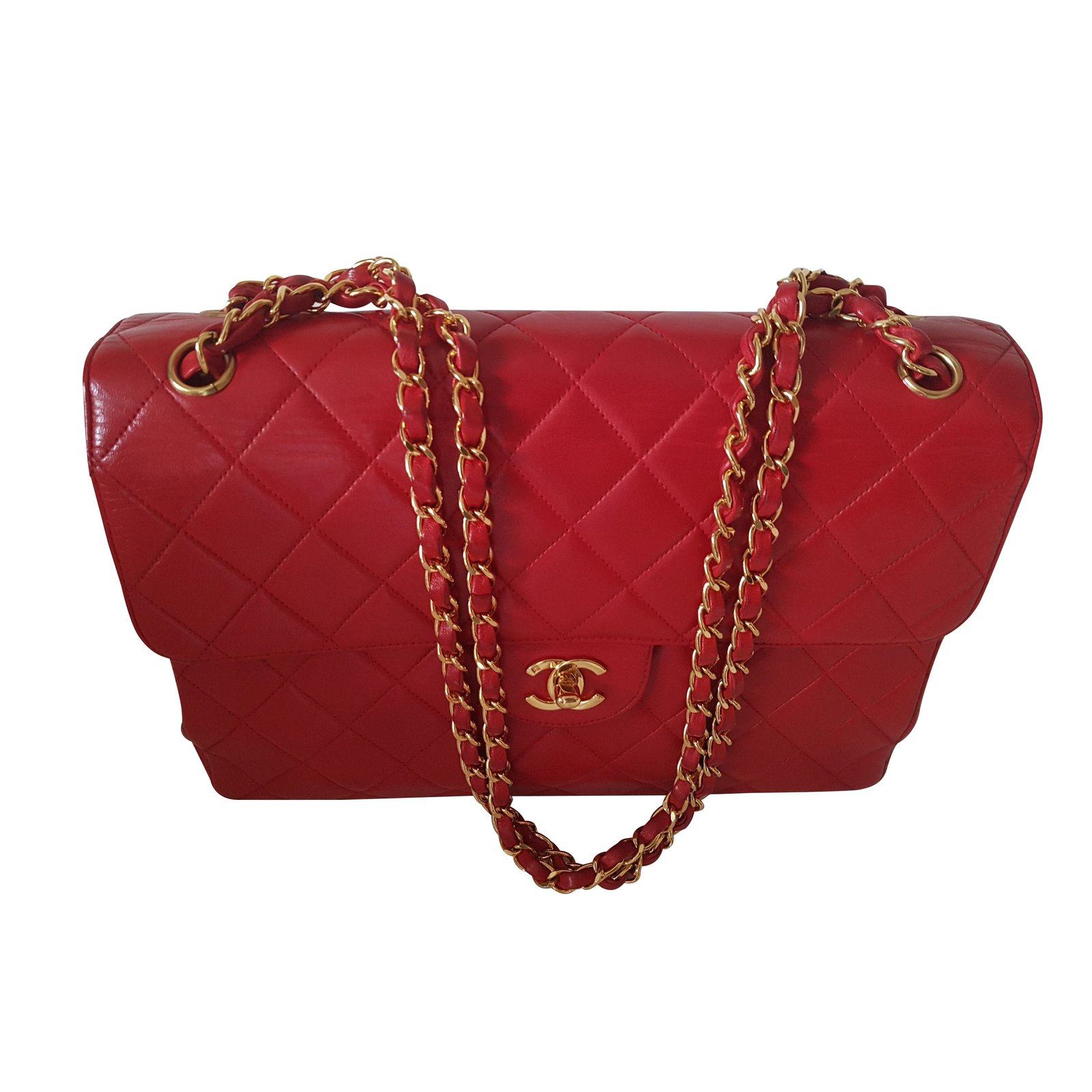 d5888f8a3bae Red Chanel Bag