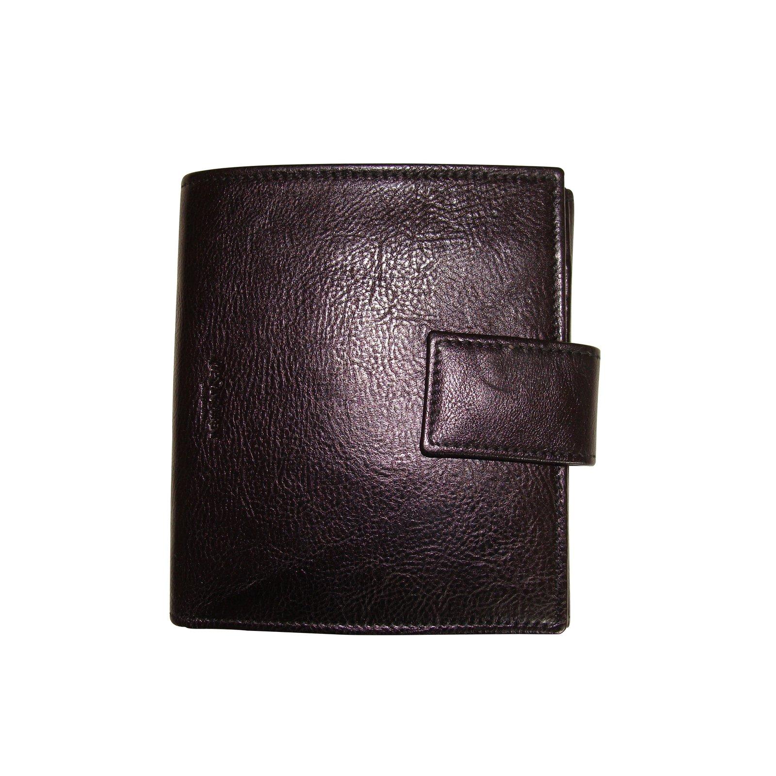 8b74ddacee7 Yves Saint Laurent Wallets Wallets Leather Black ref.99641 - Joli Closet