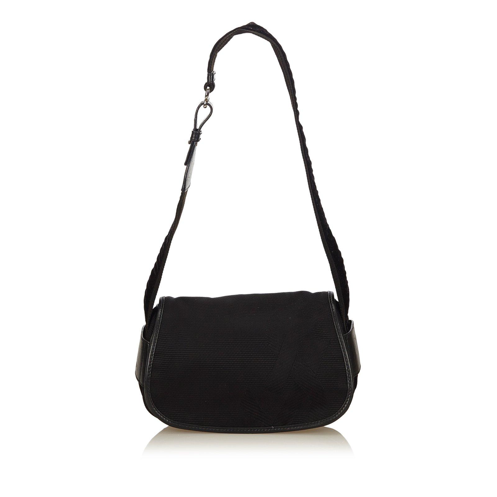 d5146d839a4b Yves Saint Laurent Rive Gauche Jacquard Shoulder Bag Handbags Leather