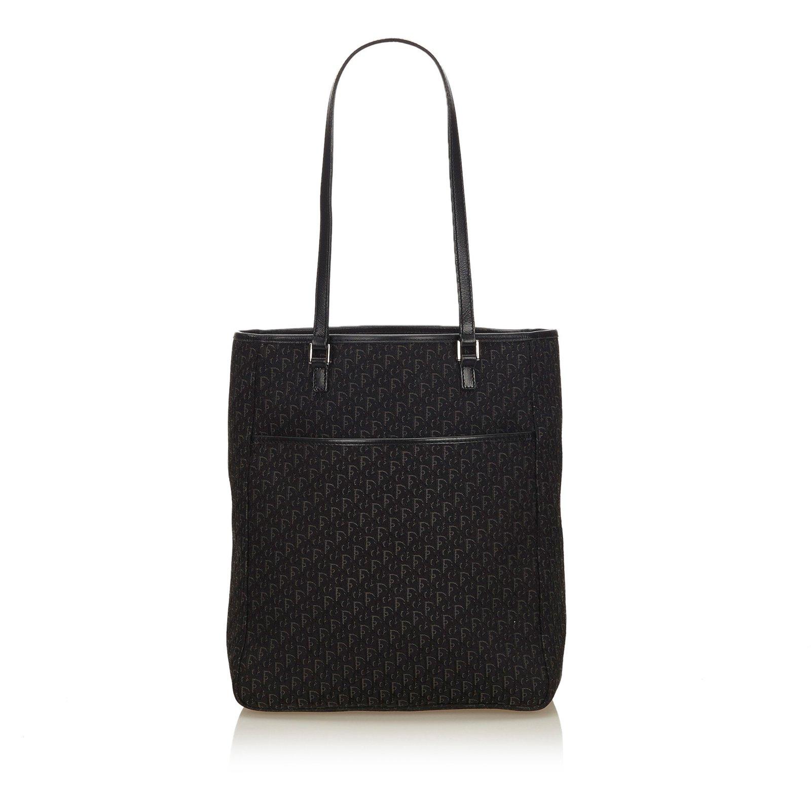fe5c9965ccc6 Dior Oblique Canvas Tote Bag Totes Leather