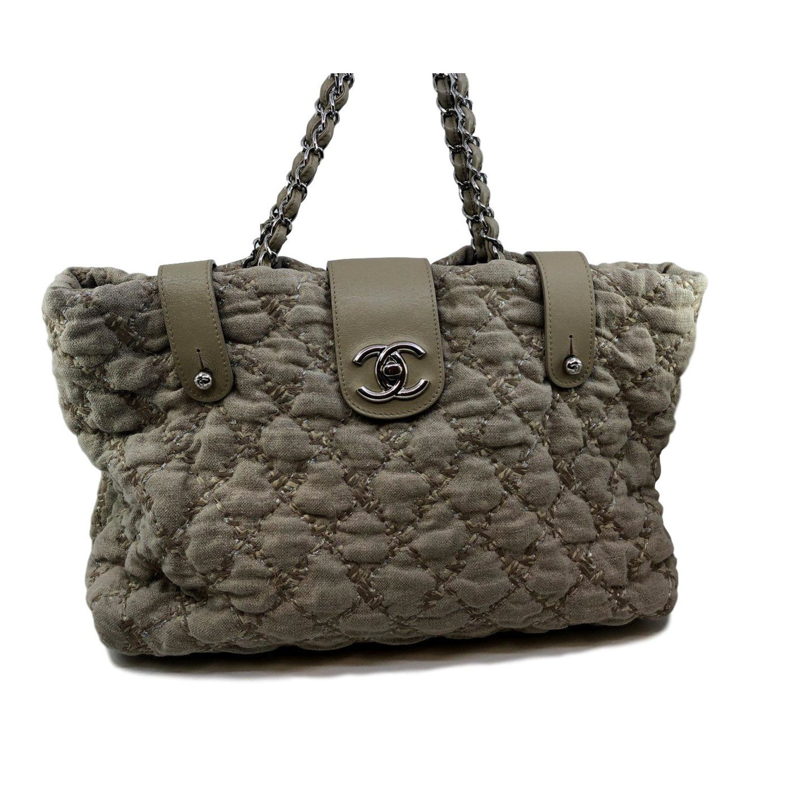6e58ba8e0bab Chanel Chanel linen bag Handbags Leather
