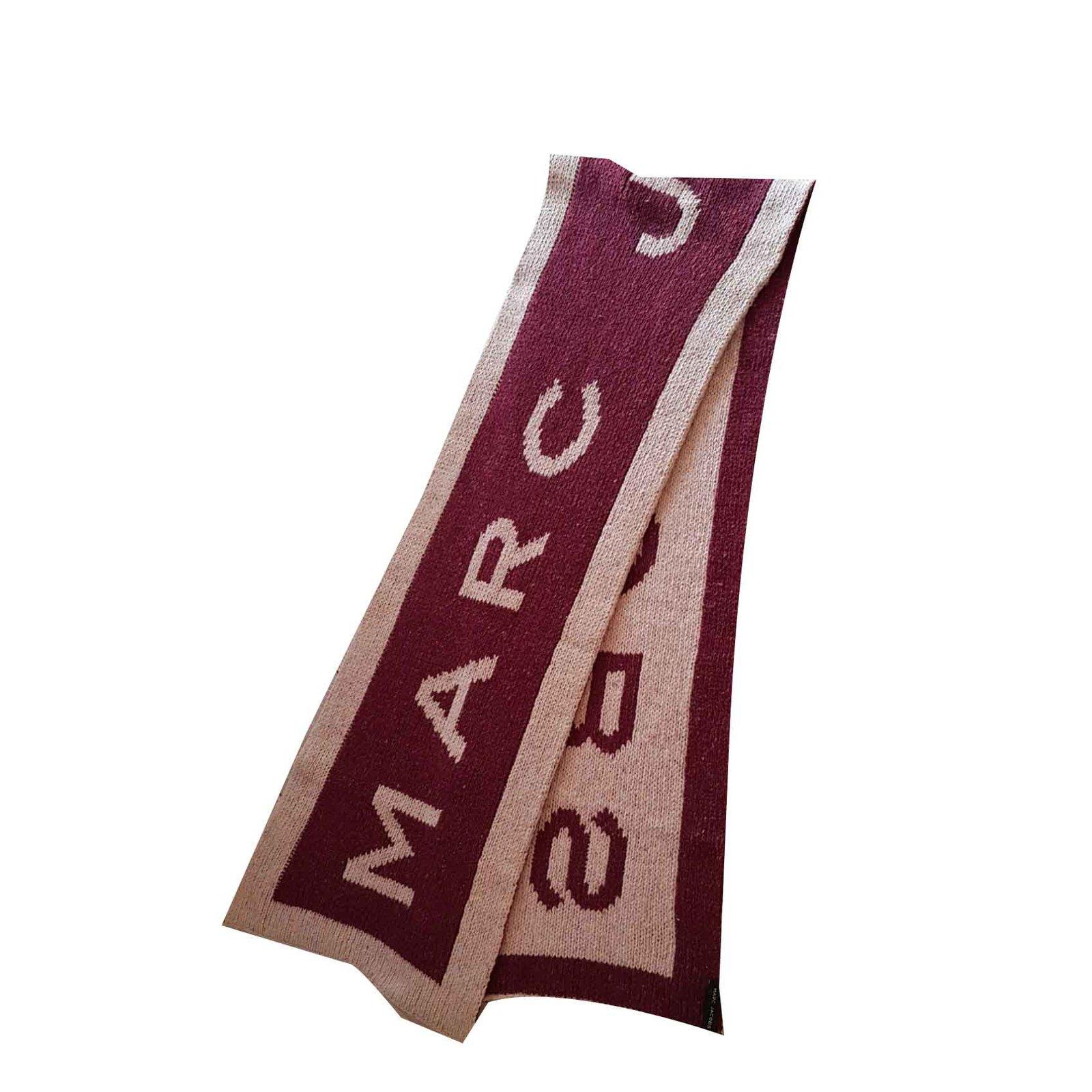 59c803be0f5 Foulards Marc Jacobs ÉCHARPE MARC JACOBS Laine Multicolore ref.106074