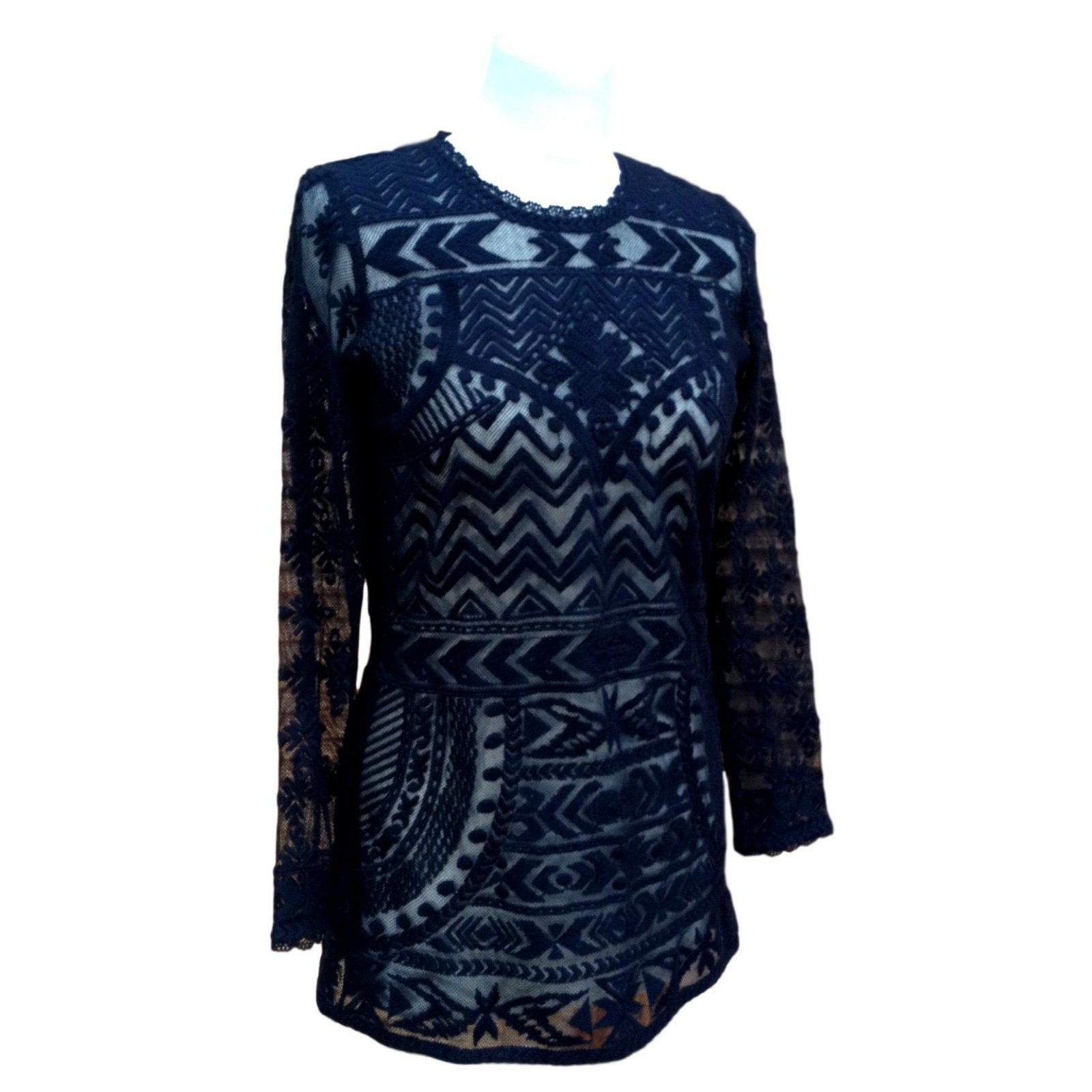 ecbb33237d4be8 Isabel Marant Pour H&M Tops Tops Cotton Black ref.106149 - Joli Closet