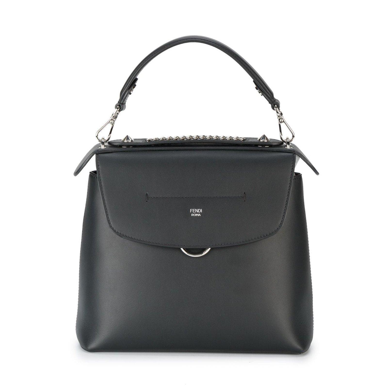 3371e0ef3190 Fendi Leather Back To School Backpack Backpacks Leather