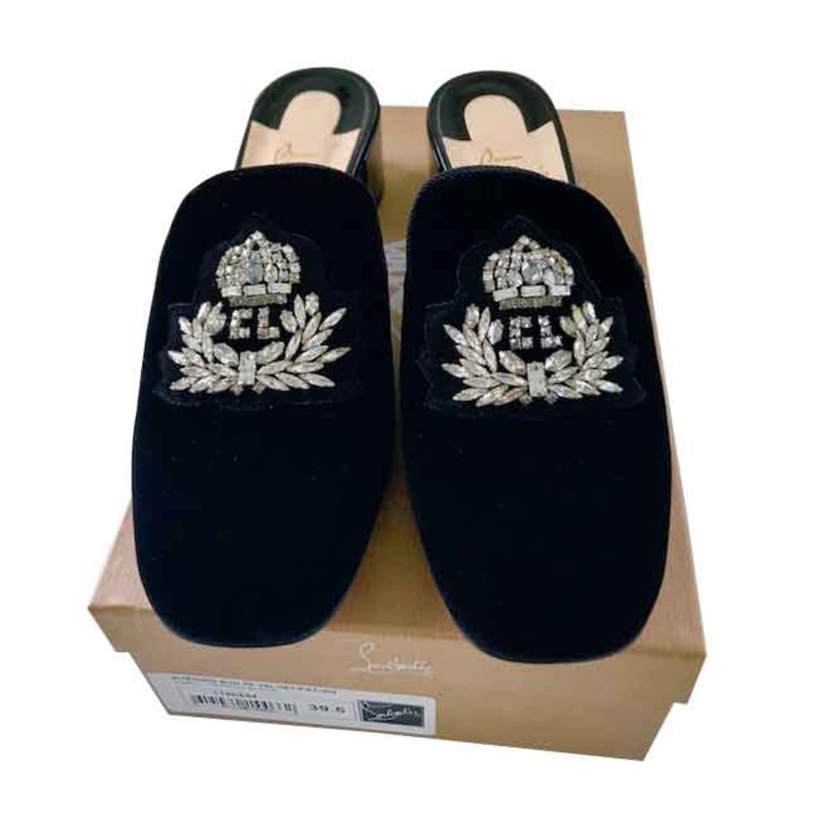Christian Louboutin SLIPPERS LOAFERS