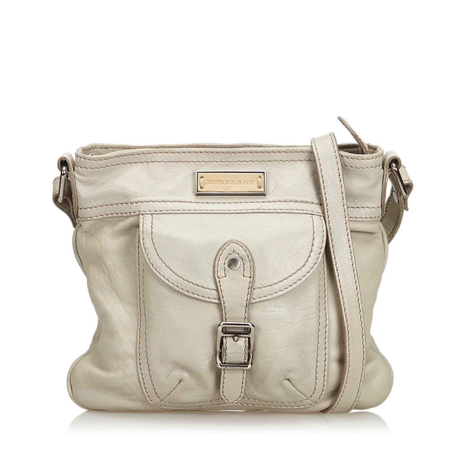 Burberry Leather Shoulder Bag Handbags Leather f4565cd1cdea5