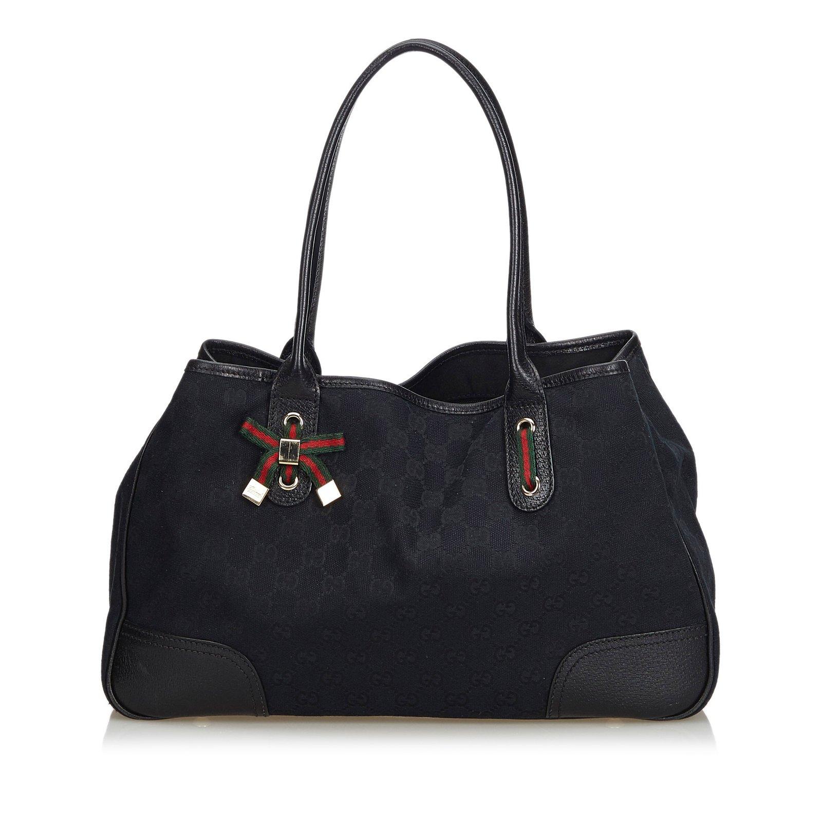 1b6104b2400 Gucci GG Jacquard Princy Tote Bag Totes Leather