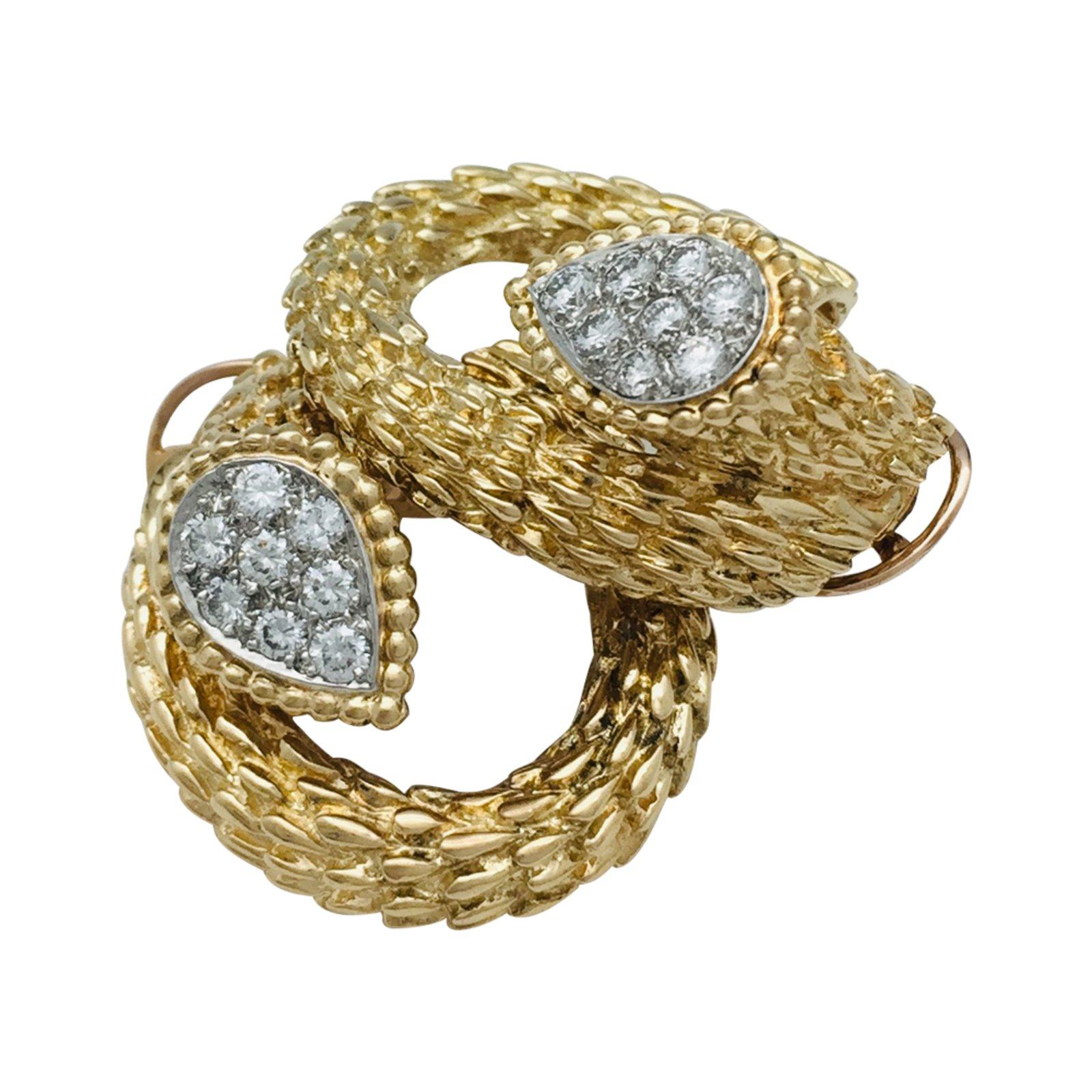 Boucheron Boucheron Earrings Serpent Boheme In Yellow Gold Diamonds Earrings Other Yellow Gold Other Ref 110716 Joli Closet