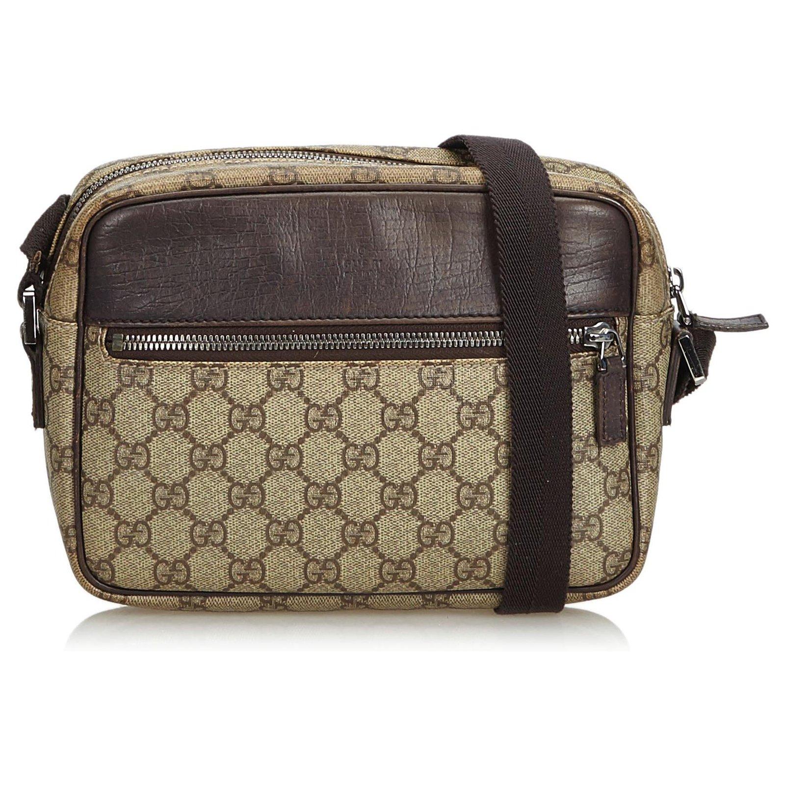 2848c93dc46 Gucci Guccissima Crossbody Bag Handbags Leather