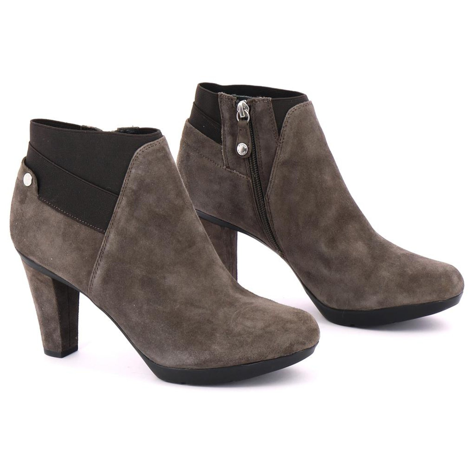 Boots Nubuck Geox Marron 112689 Bottines Low Ref 7bYf6gy