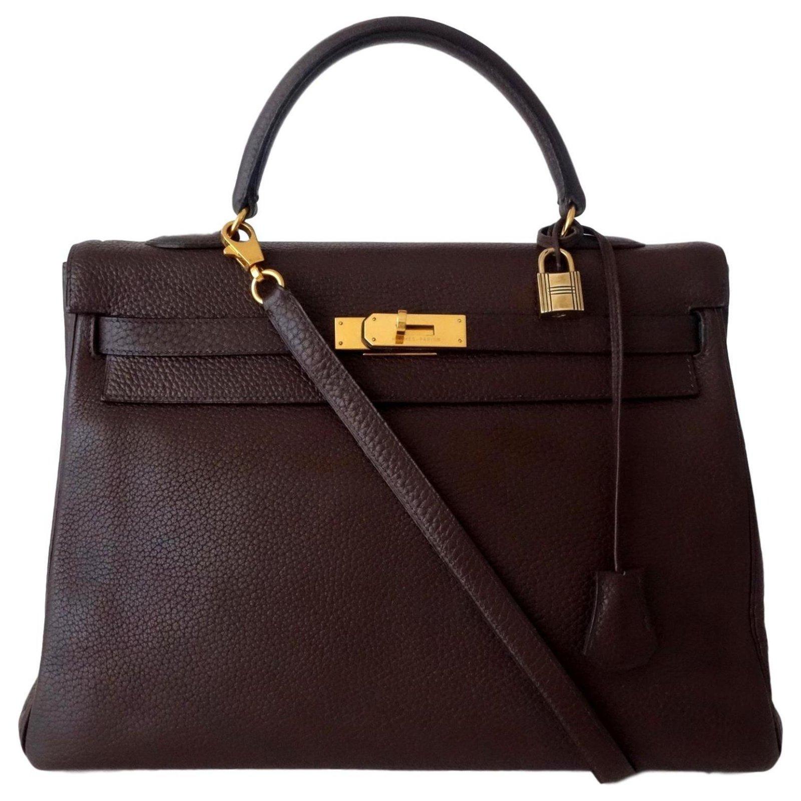 Bag Hermes Kelly Brown