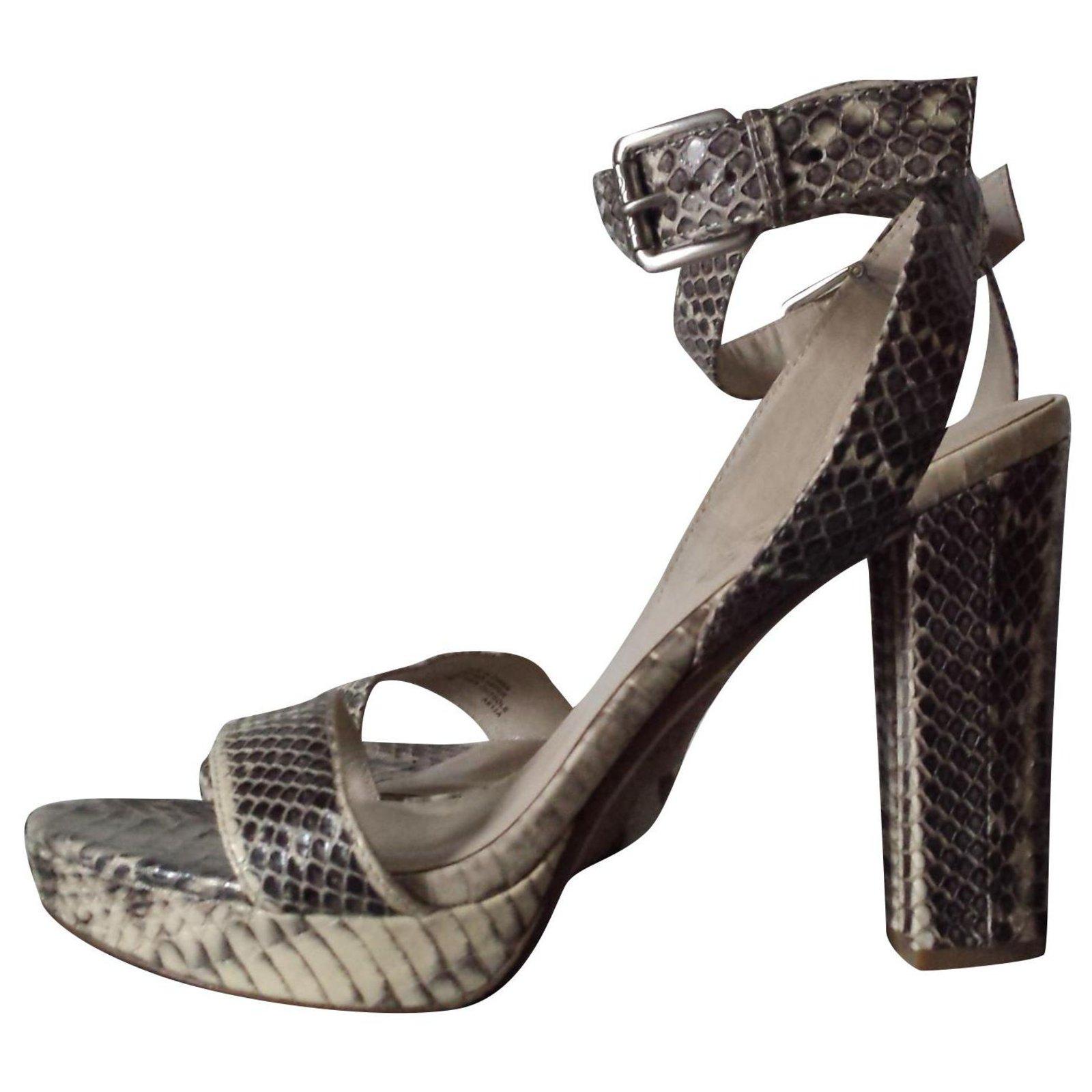 michael kors heel sandals