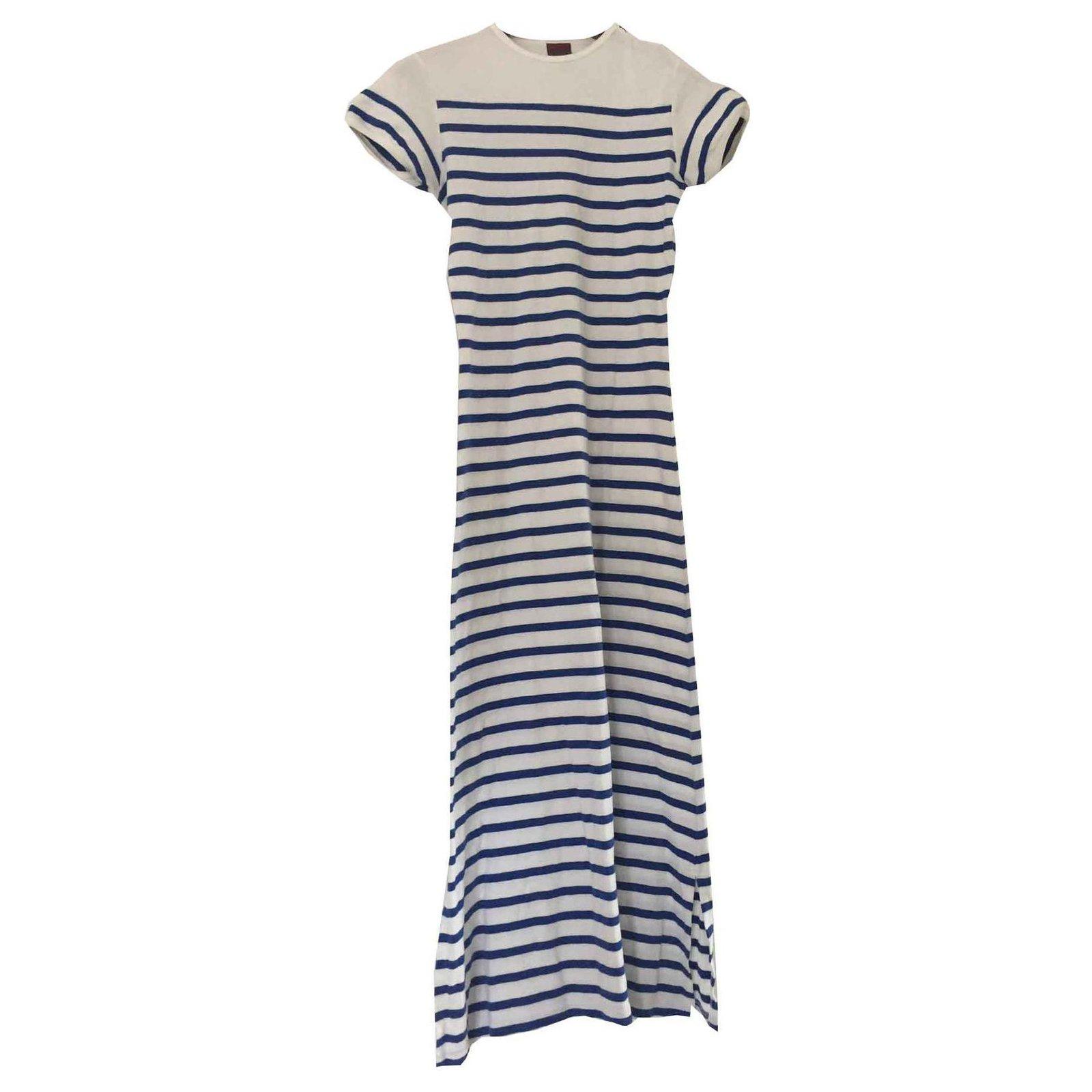 Robes Jean Paul Gaultier Robe longue mariniè