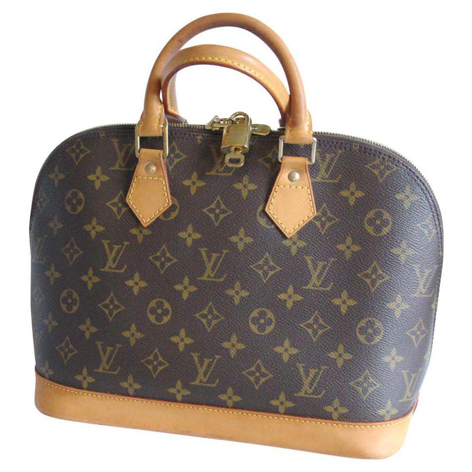 3f4265d5a3c9 Louis Vuitton ALMA MONOGRAM Handbags Leather