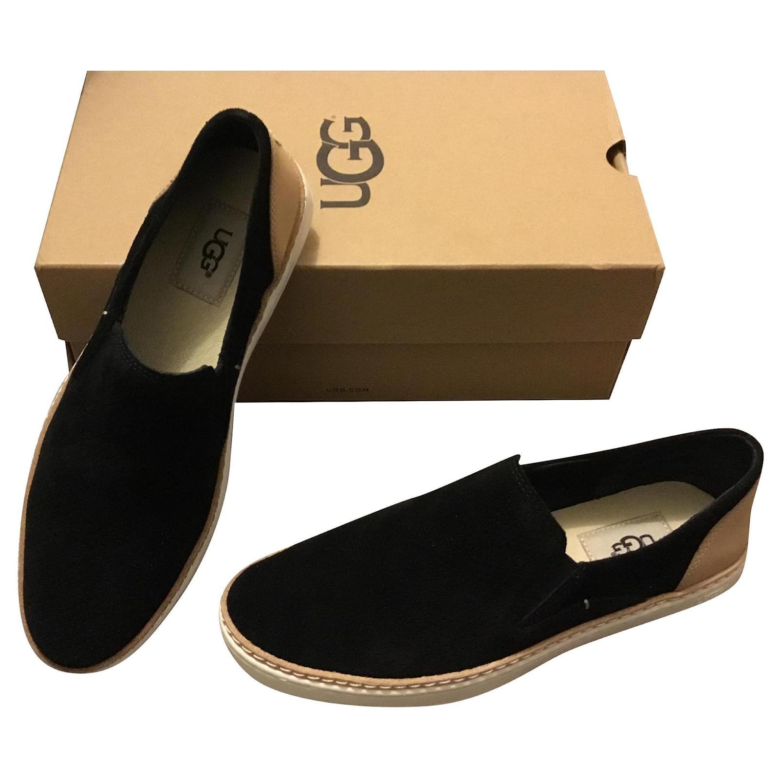 Ugg Ugg loafers black leather black