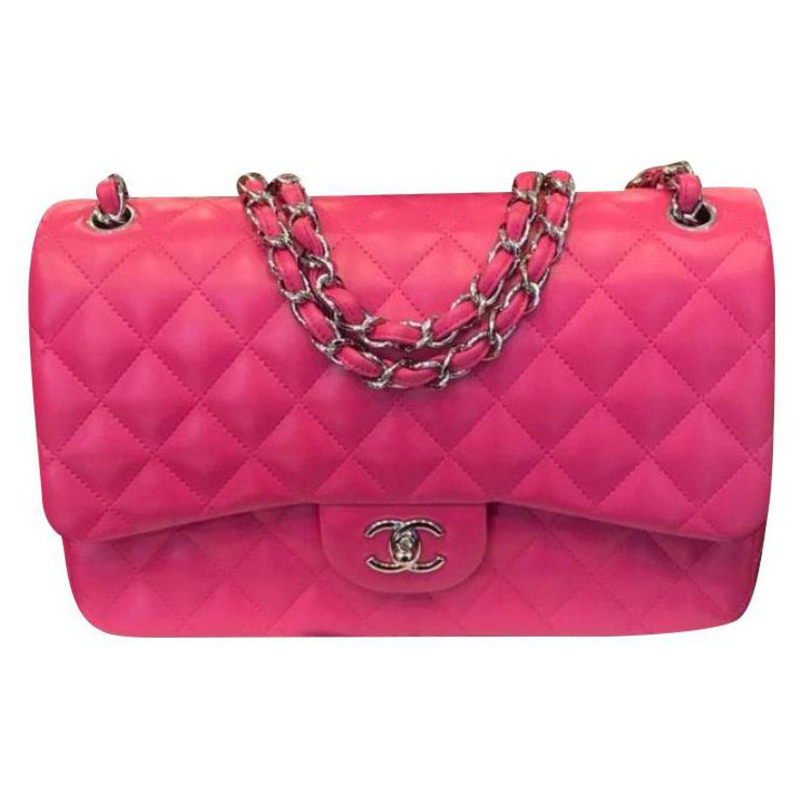 46098f4a8117 Sacs à main Chanel TIMELESS Cuir Rose ref.118123 - Joli Closet