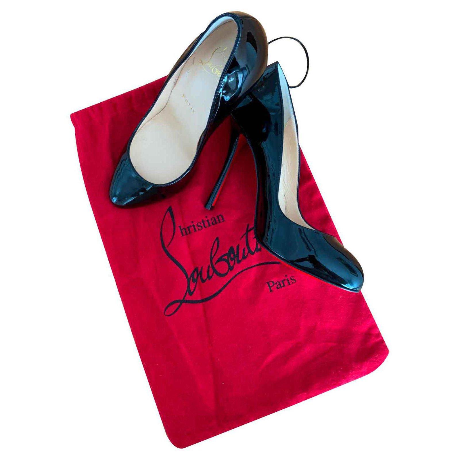 Christian Louboutin Fifi leather heels