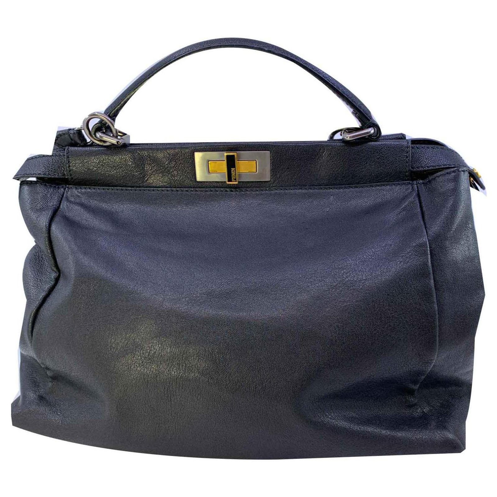 0886ffed36bc Fendi Fendi Peekaboo large model Handbags Leather