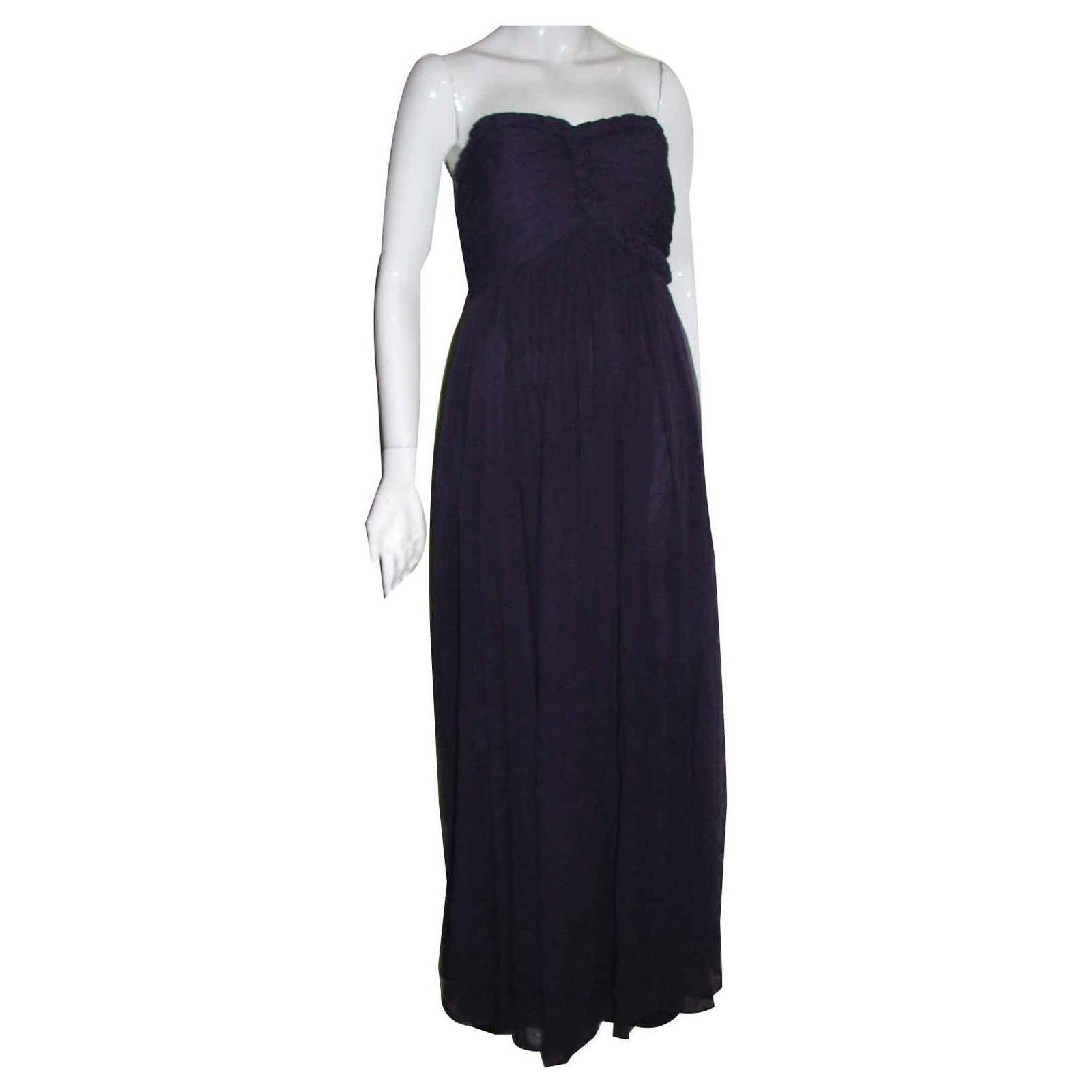 b7c74d17accb Marchesa Marchesa Notte silk gala dress Dresses Silk Purple ref.124584