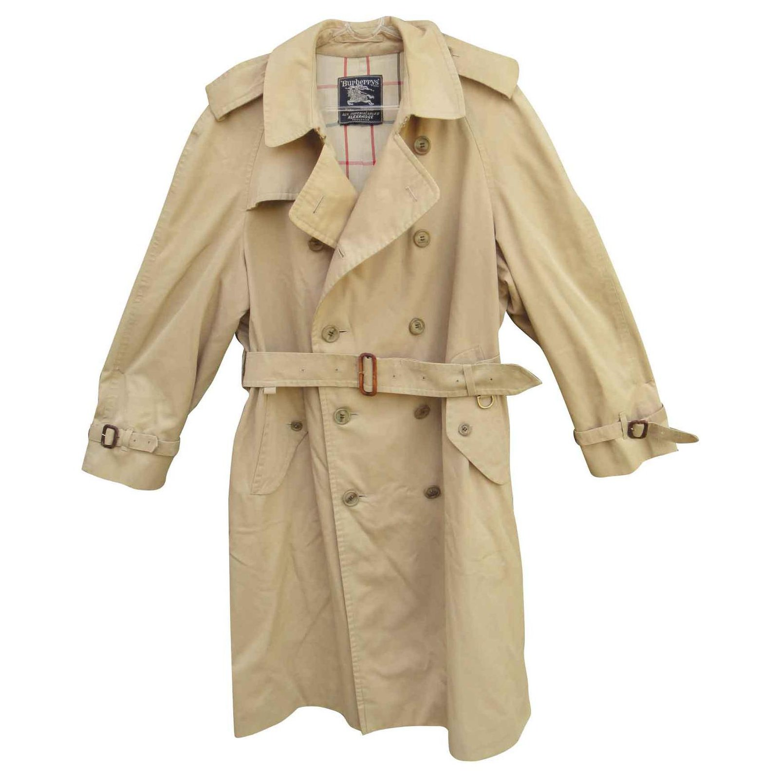 trench burberry vintage homme