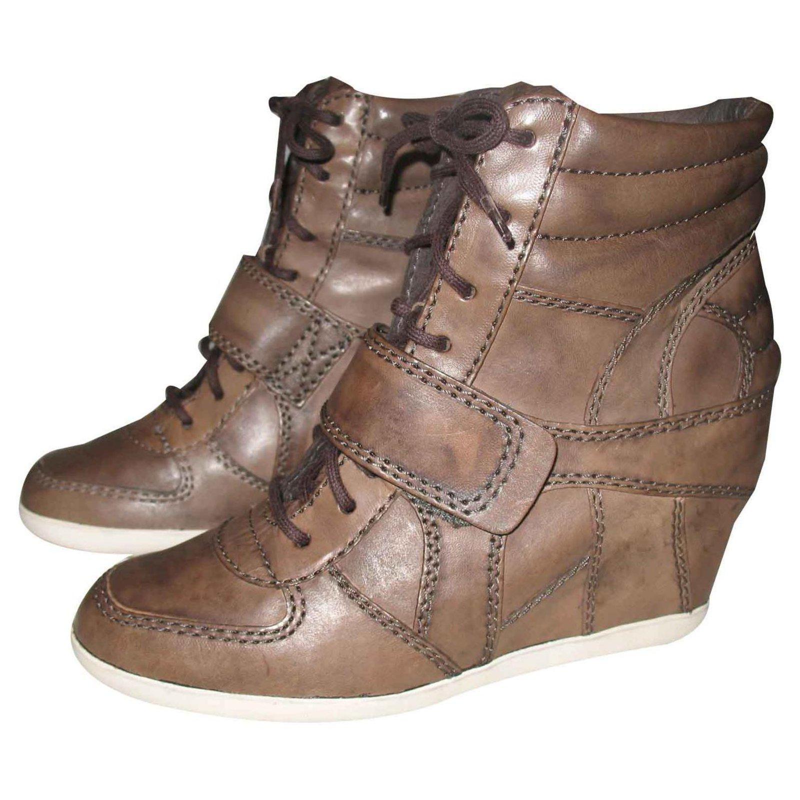 Ash Ash brown leather sneakers Sneakers