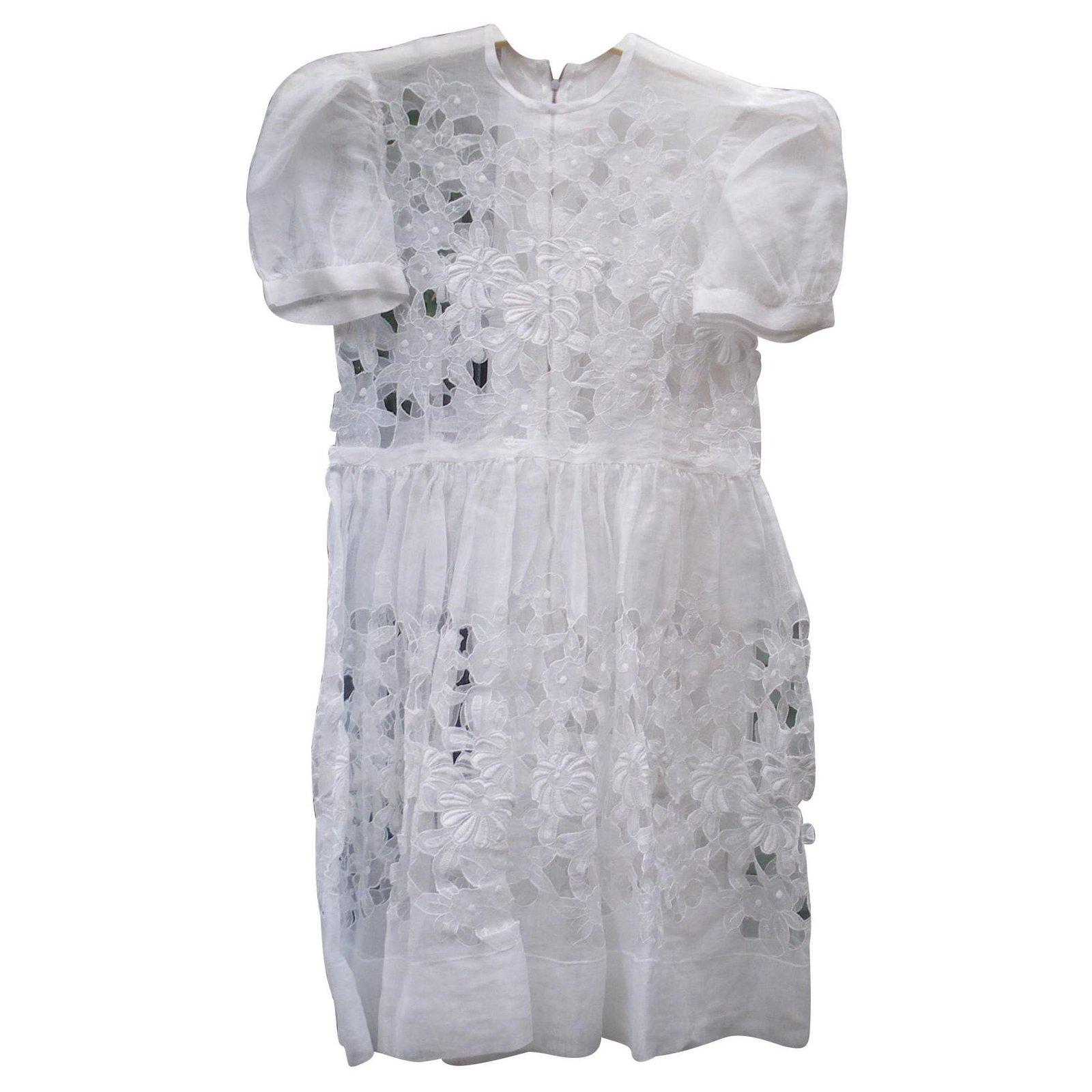 Robes Fille Autre Marque Robes Tulle Blanc Ref 129536 Joli Closet