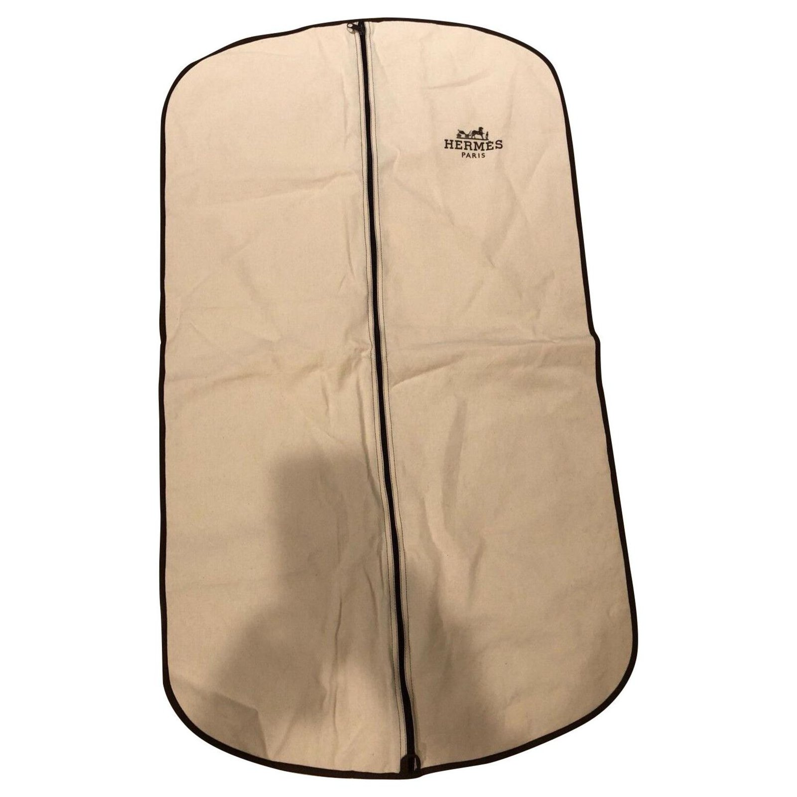 Hermes Protect Suit Wallets Small Accessories Cotton White Ref 130371 Joli Closet